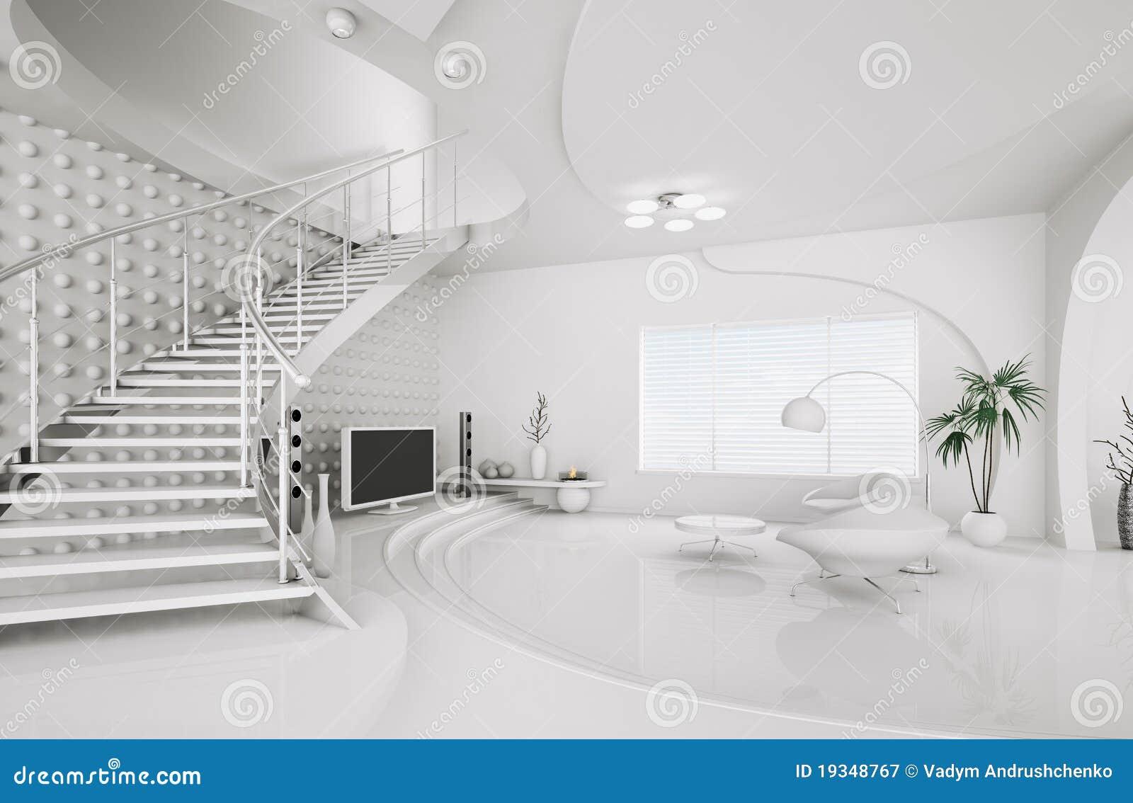 Modern interior design of living room 3d render royalty for Design your room 3d