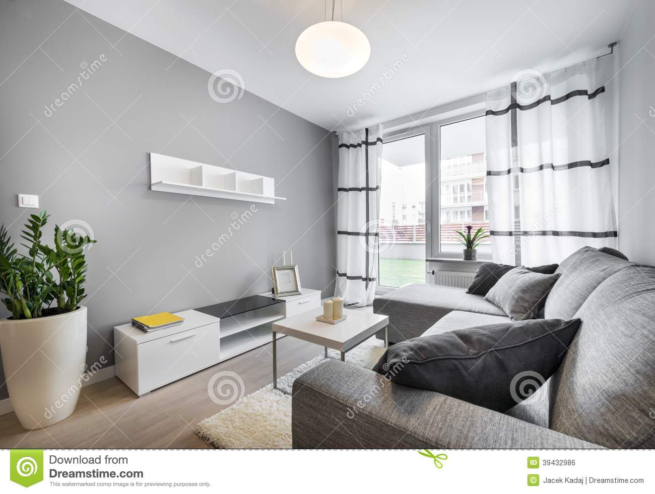 Modern interior design living room stock photo image for New interior design for drawing room
