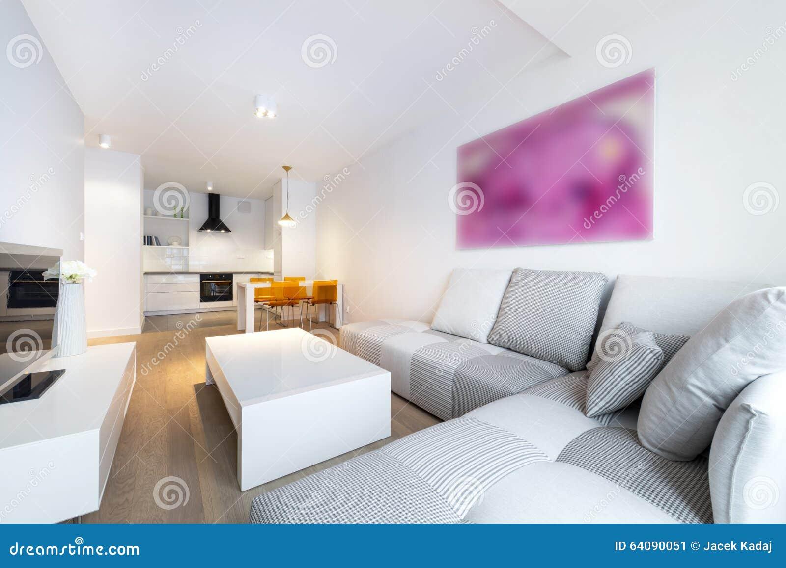 Rc Furniture Interior Design Stock Dealer ~ Wooden kitchen furniture in modern interior evening view