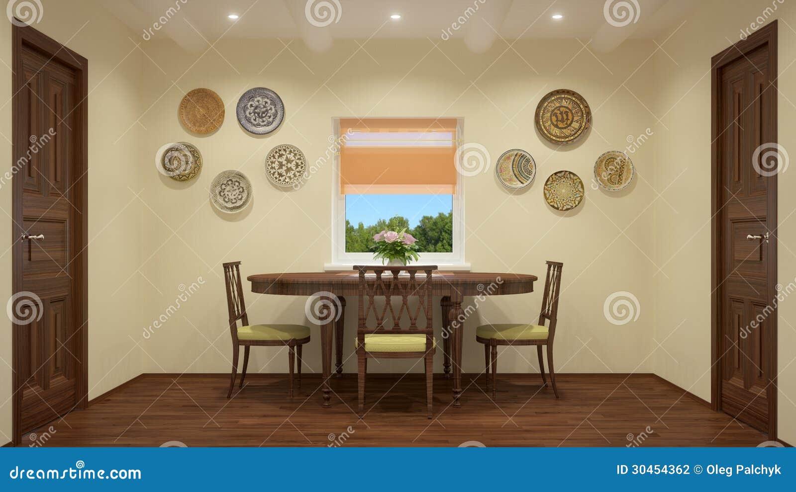 Modern Interior Living Room Stock Photography Image