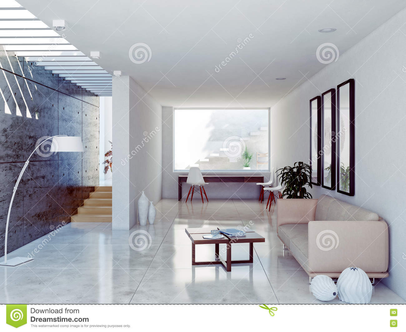 Modern Interior Stock Photos Image 35557543