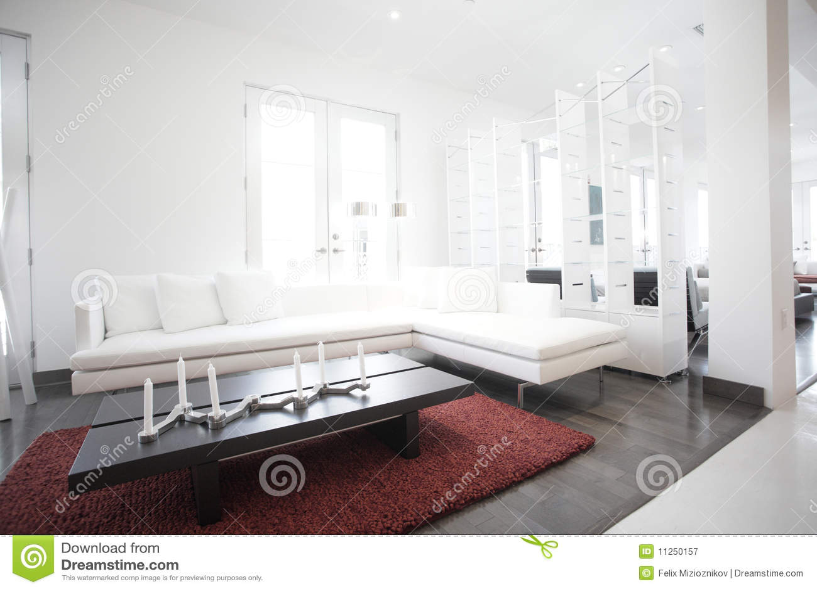 Modern interior showroom stock image. Image of apartment - 11250157