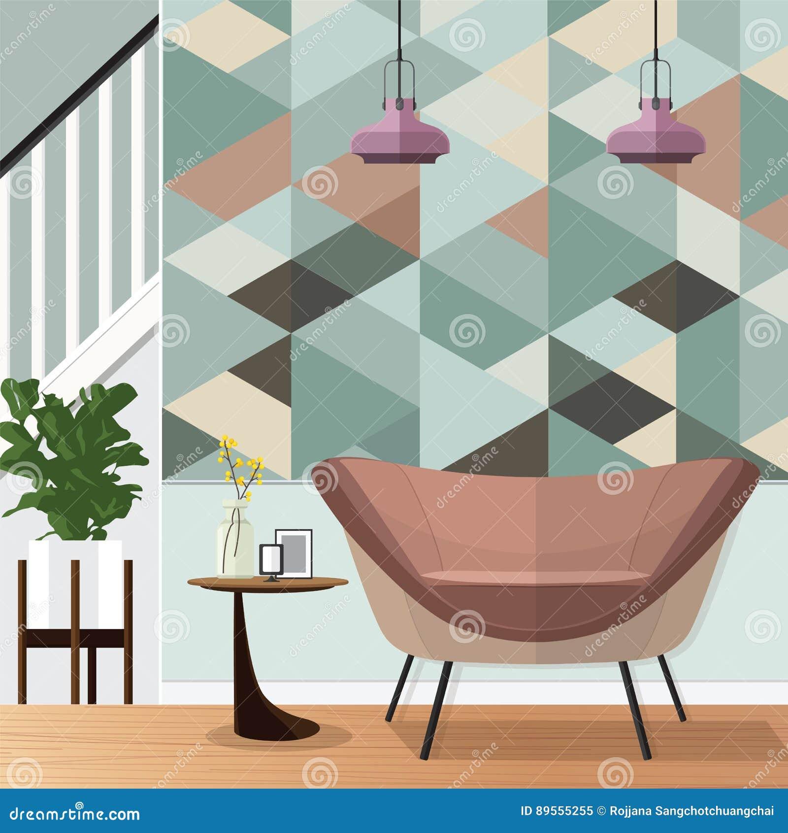 Rc Furniture Interior Design Stock Dealer ~ Ceiling cartoons illustrations vector stock images