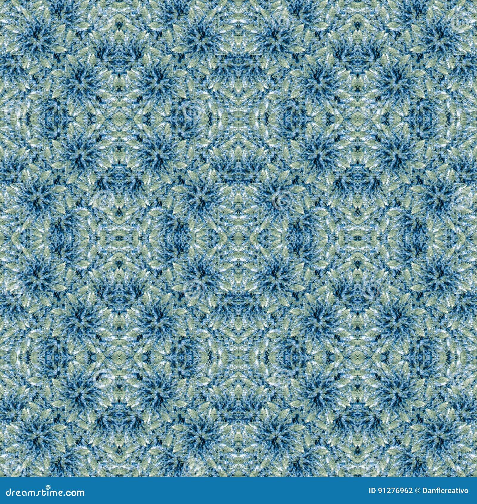 Modern invecklad utsmyckad barock sömlös mosaik