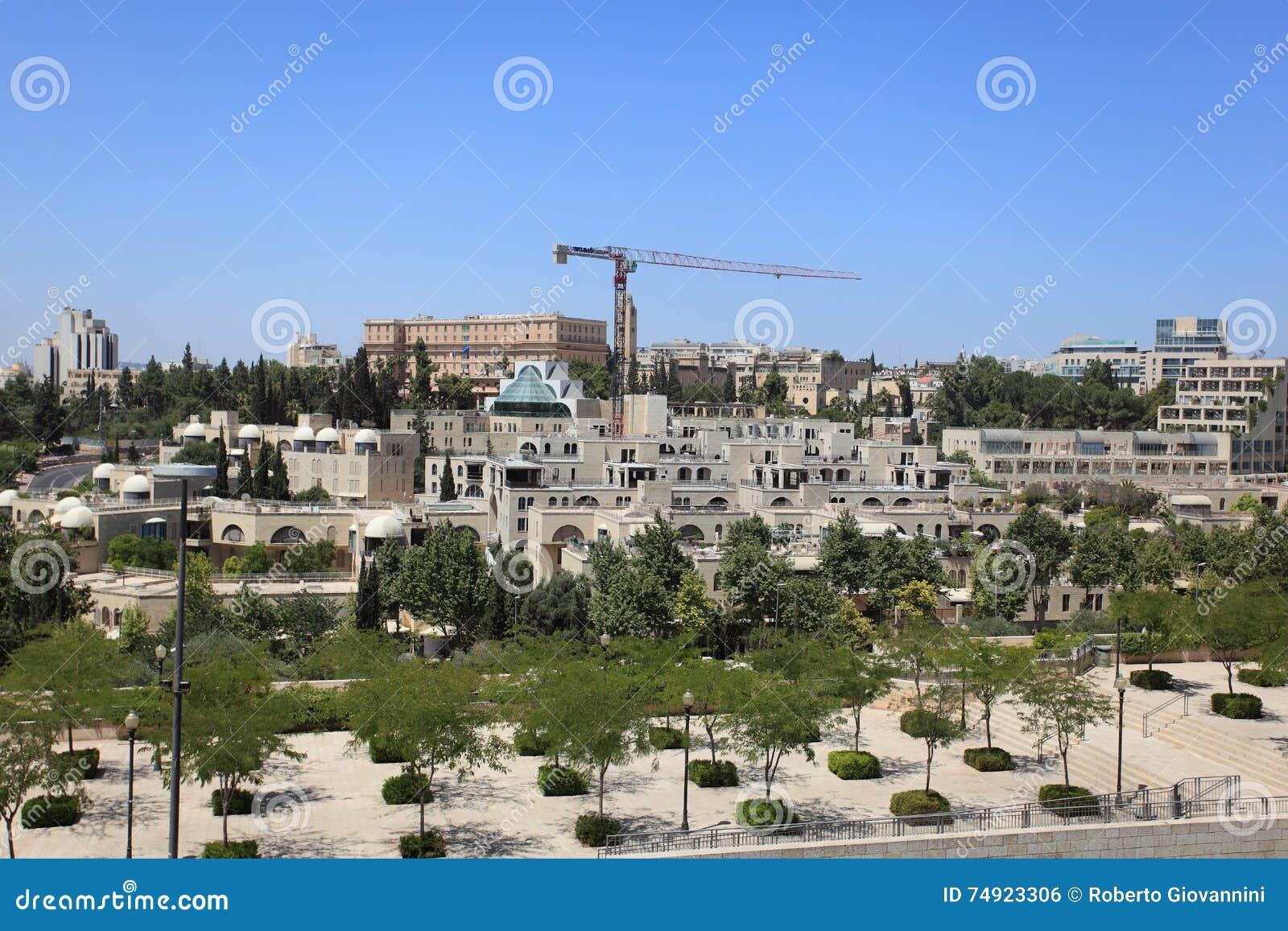 Modern jerusalem and king david hotel editorial photo for Hotel design jerusalem
