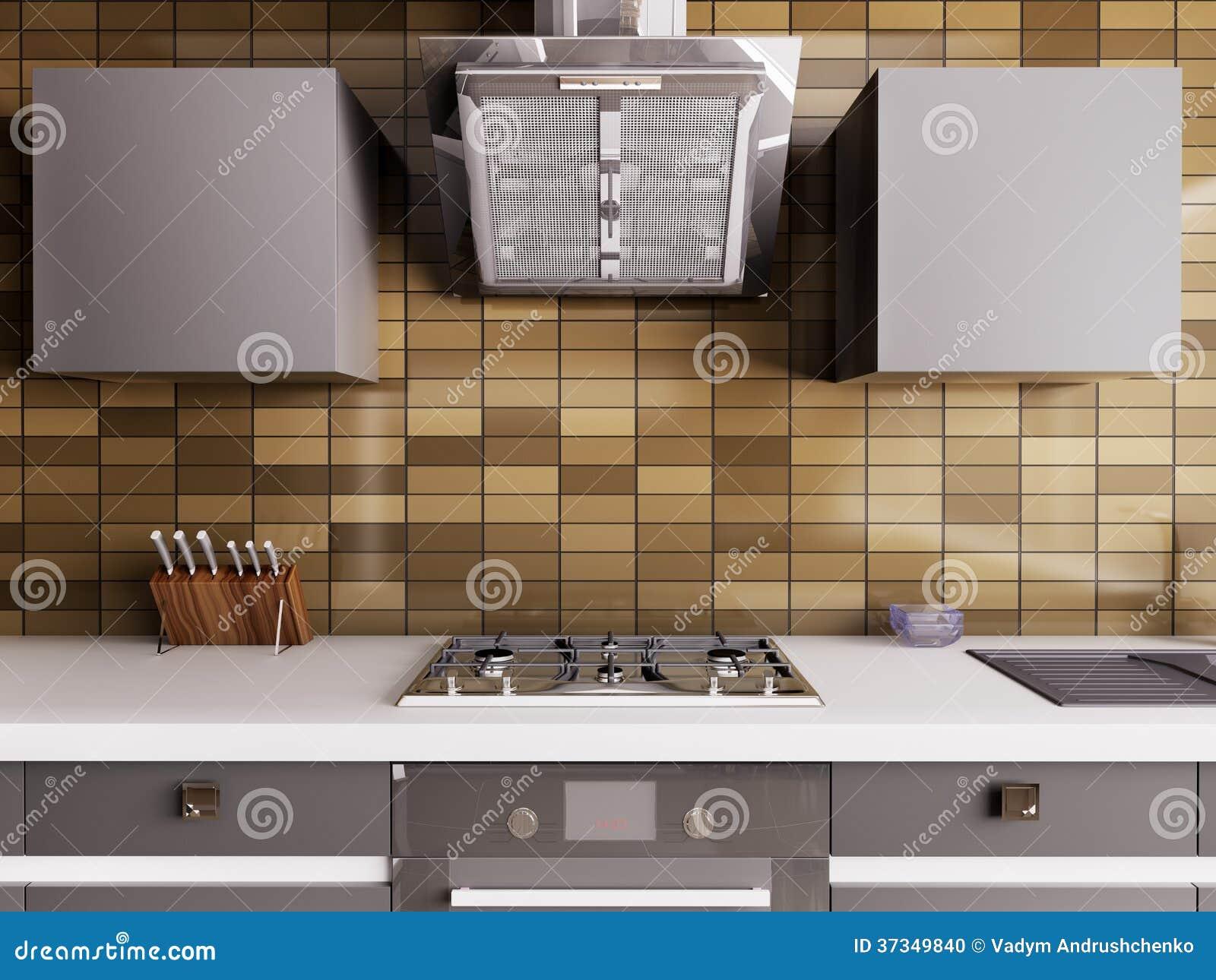 Modern kökinre 3d
