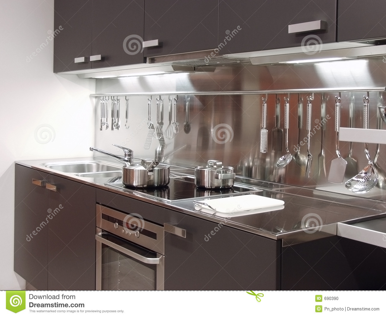 Modern Kitchen Architecture 04 Stock Photo Image 690390
