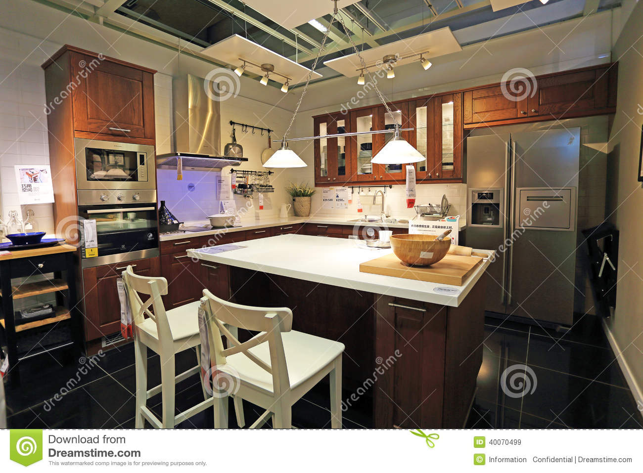 Modern kitchen editorial stock image image 40070499 for Modern kitchen company