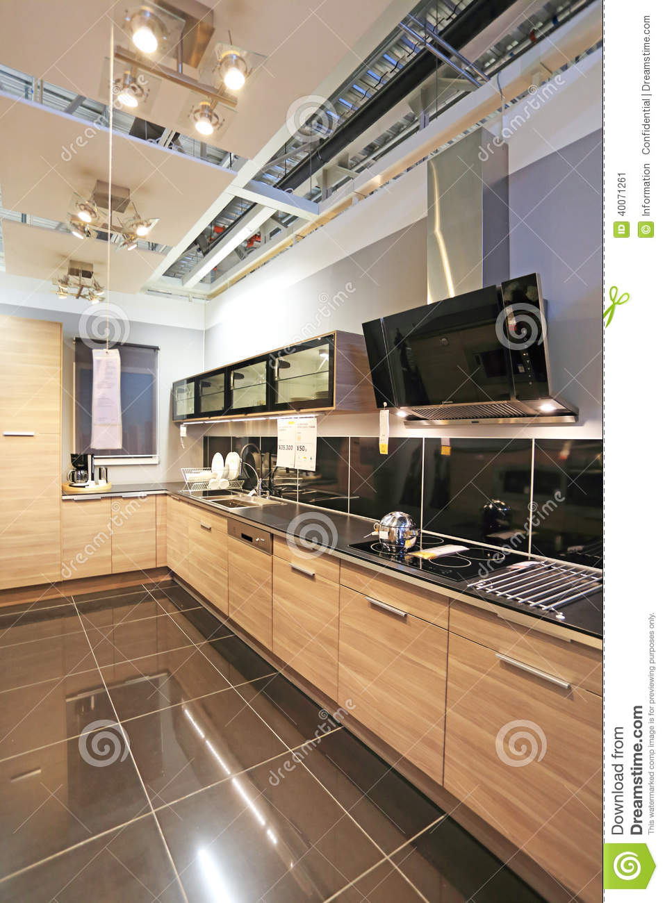 Modern kitchen editorial photo image 40071261 for Modern kitchen company