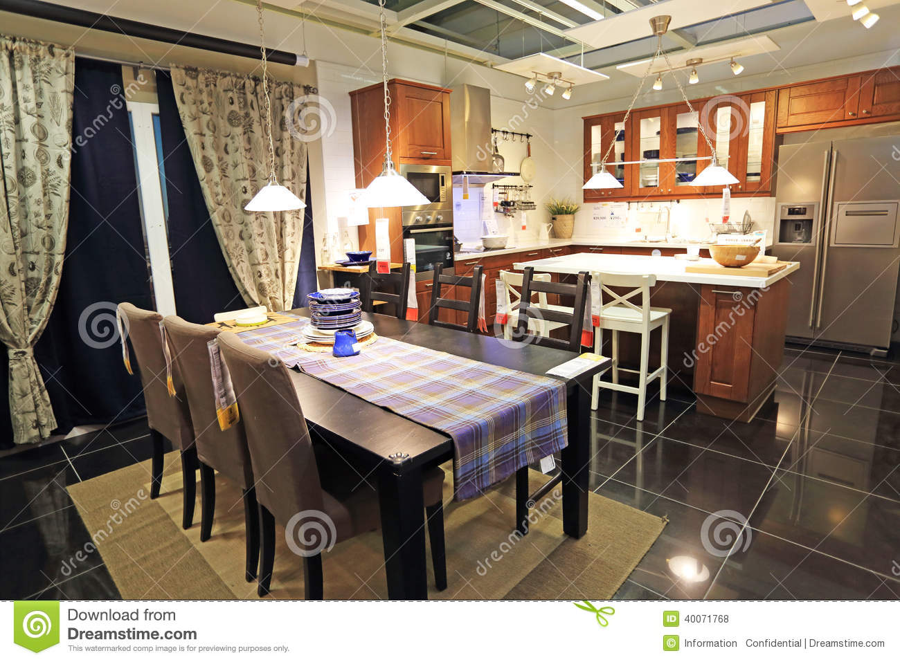 Modern kitchen editorial stock photo image 40071768 for Modern kitchen company