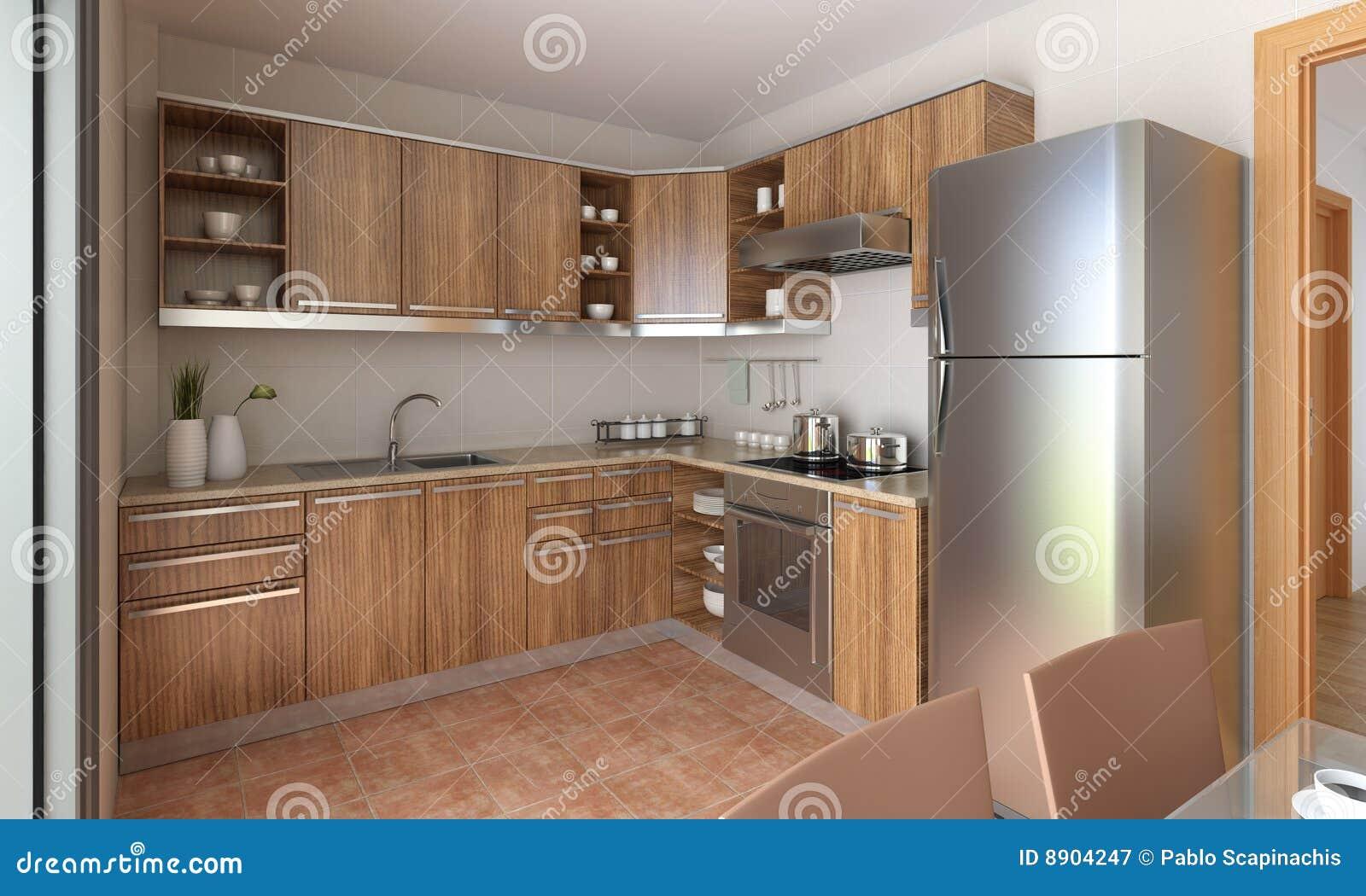 Magnificent Modern Kitchen Design Stock Image Image Of Kitchen Design Home Interior And Landscaping Oversignezvosmurscom