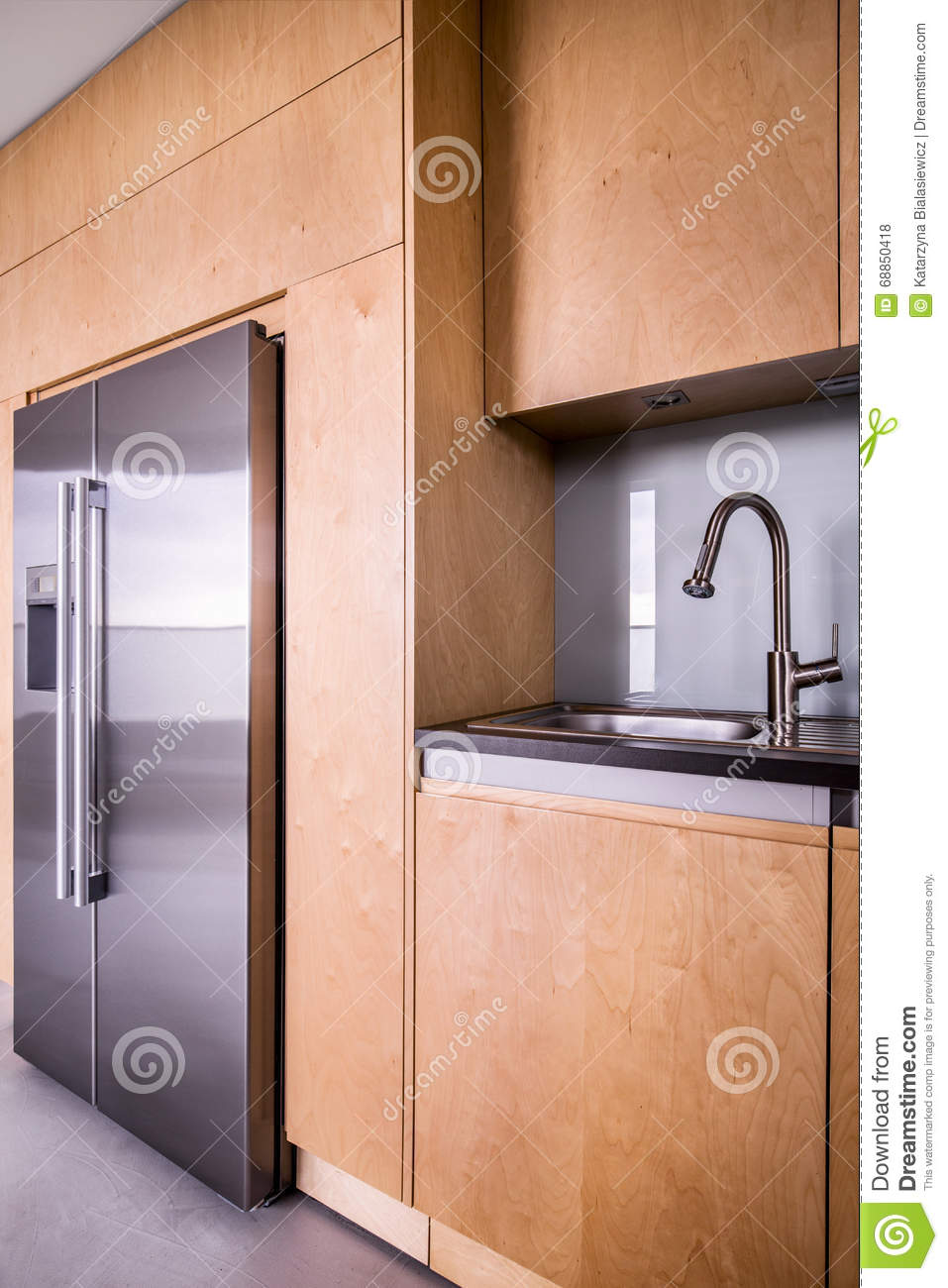 Modern Kitchen Design Stock Photo Image 68850418