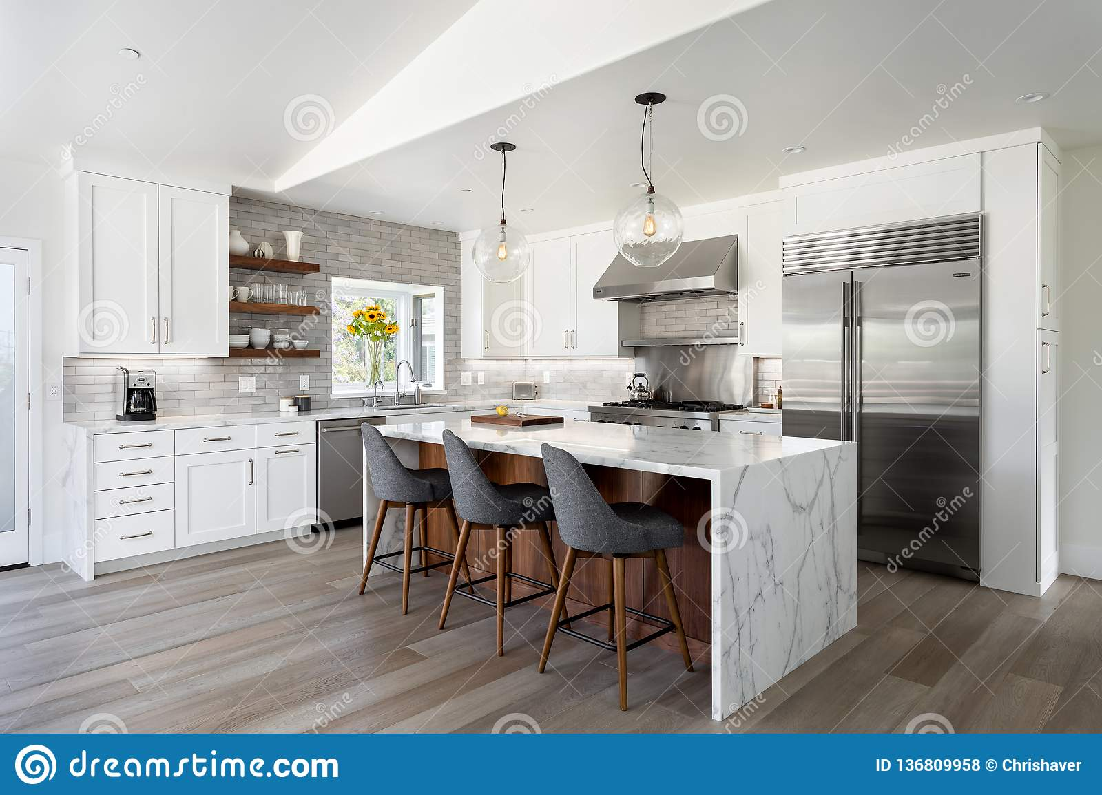Modern Kitchen Design Home Interior Editorial Stock Photo Image Of Counter Floor 136809958,What Goes Well With Blue Clothes