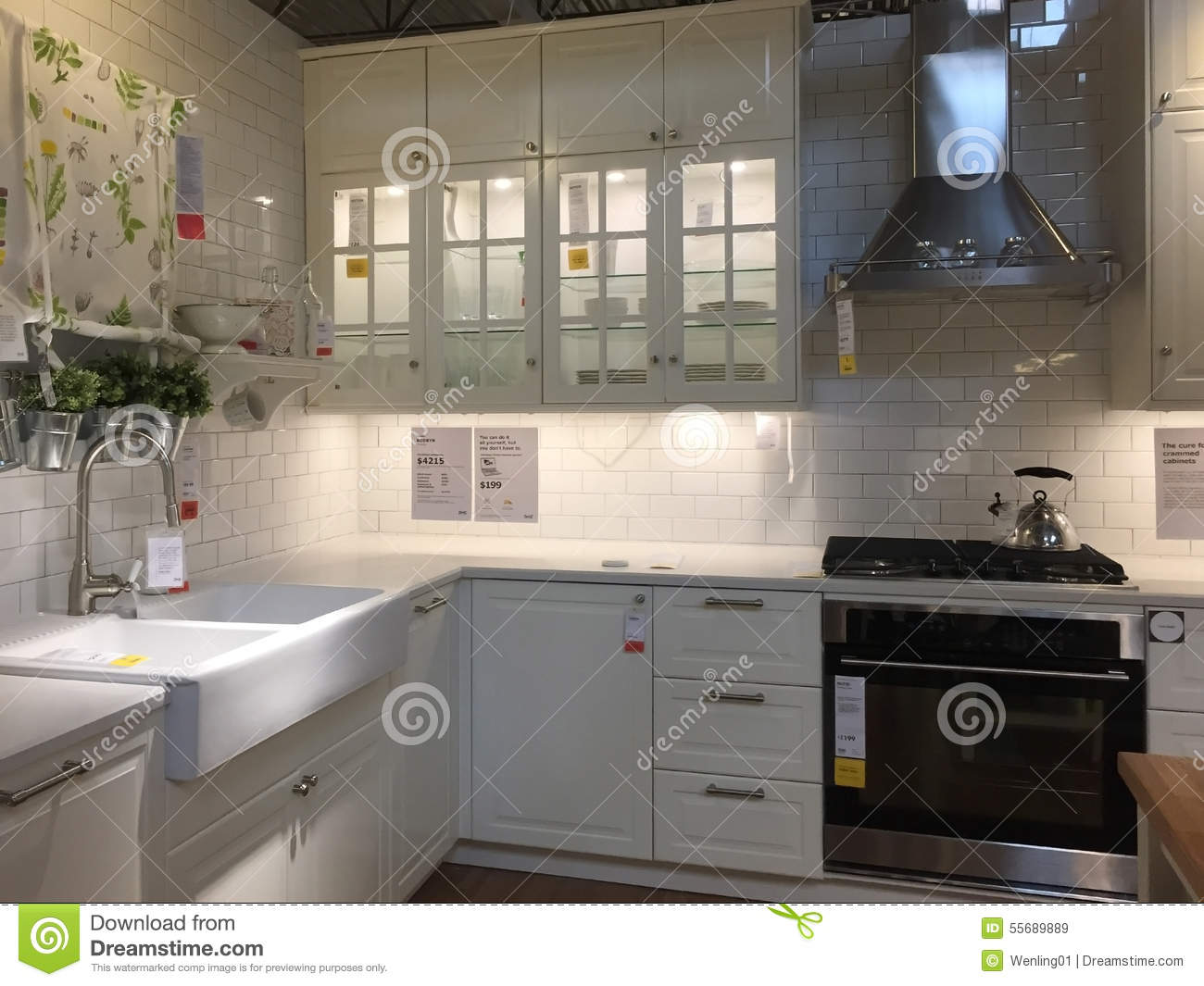 Modern kitchen editorial stock image image 55689889 for Usa kitchen design