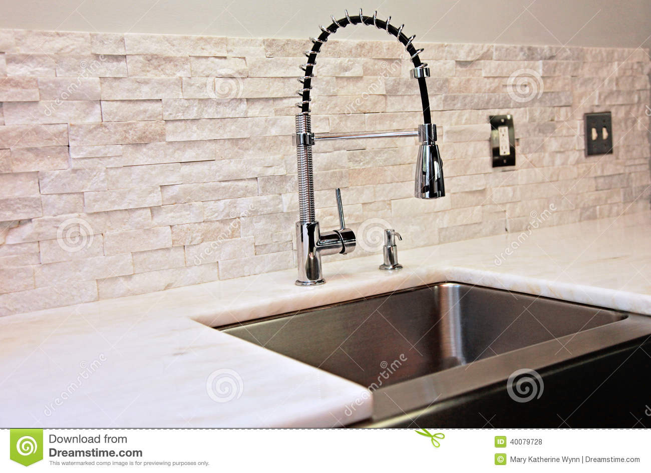 Modern Kitchen Detail Stock Photo Image Of Contemporary