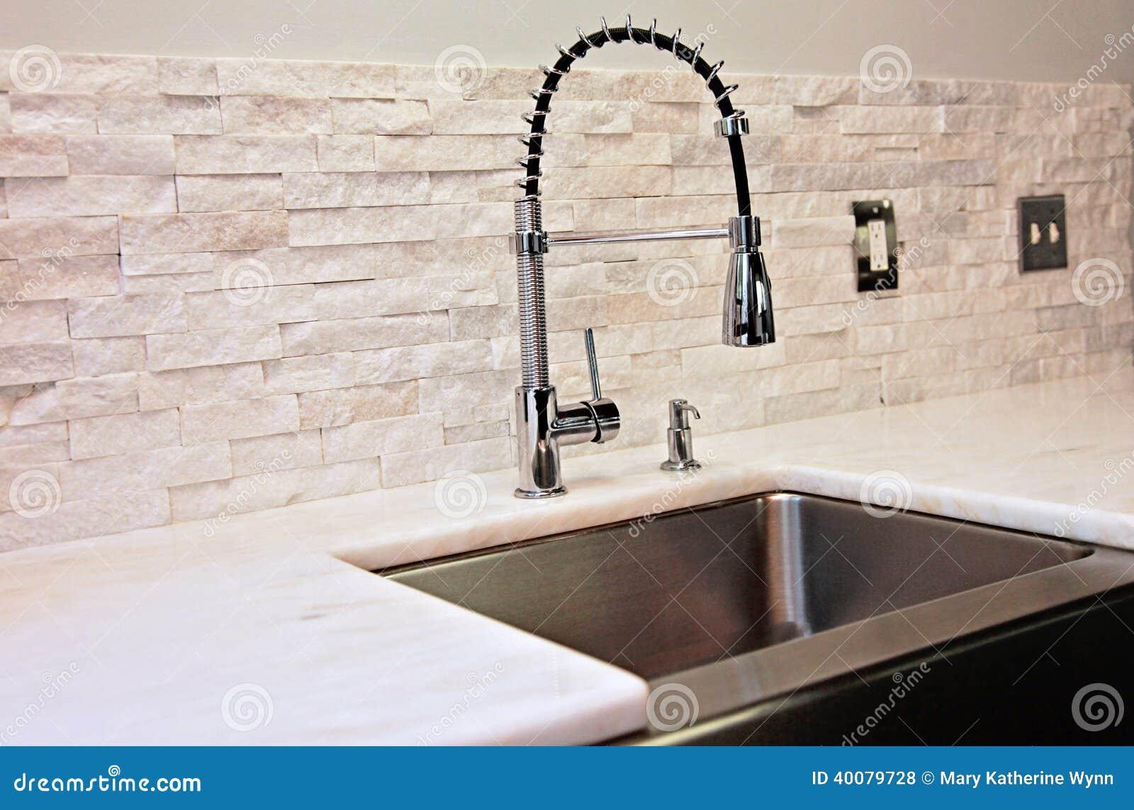 Industrial Kitchen Sink Faucet