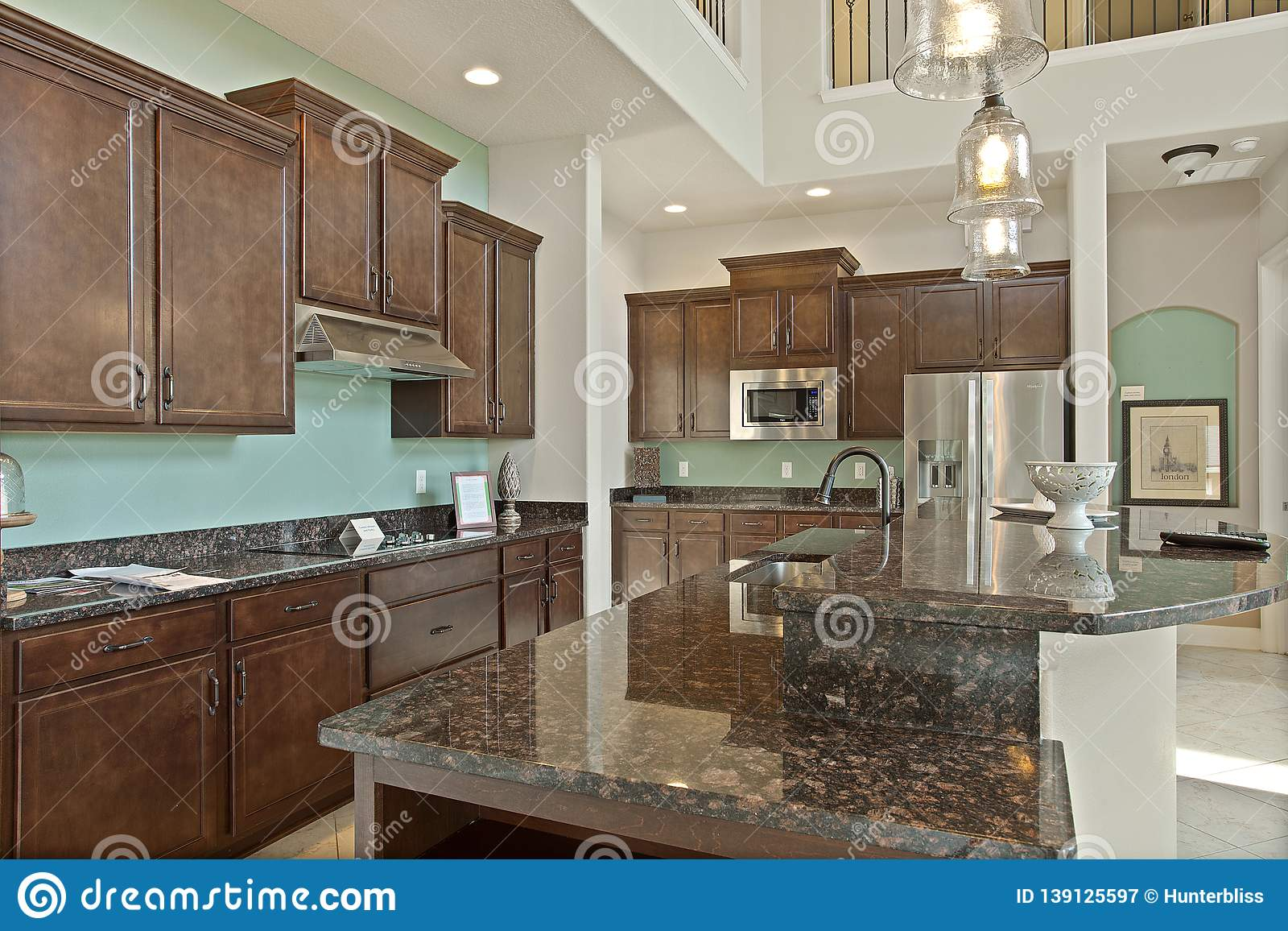 Modern Kitchen Home Interior With Hardwood And Wooden Cabinets ... on ideal kitchen tiles, ideal kitchen flooring, ideal kitchen cabinets,