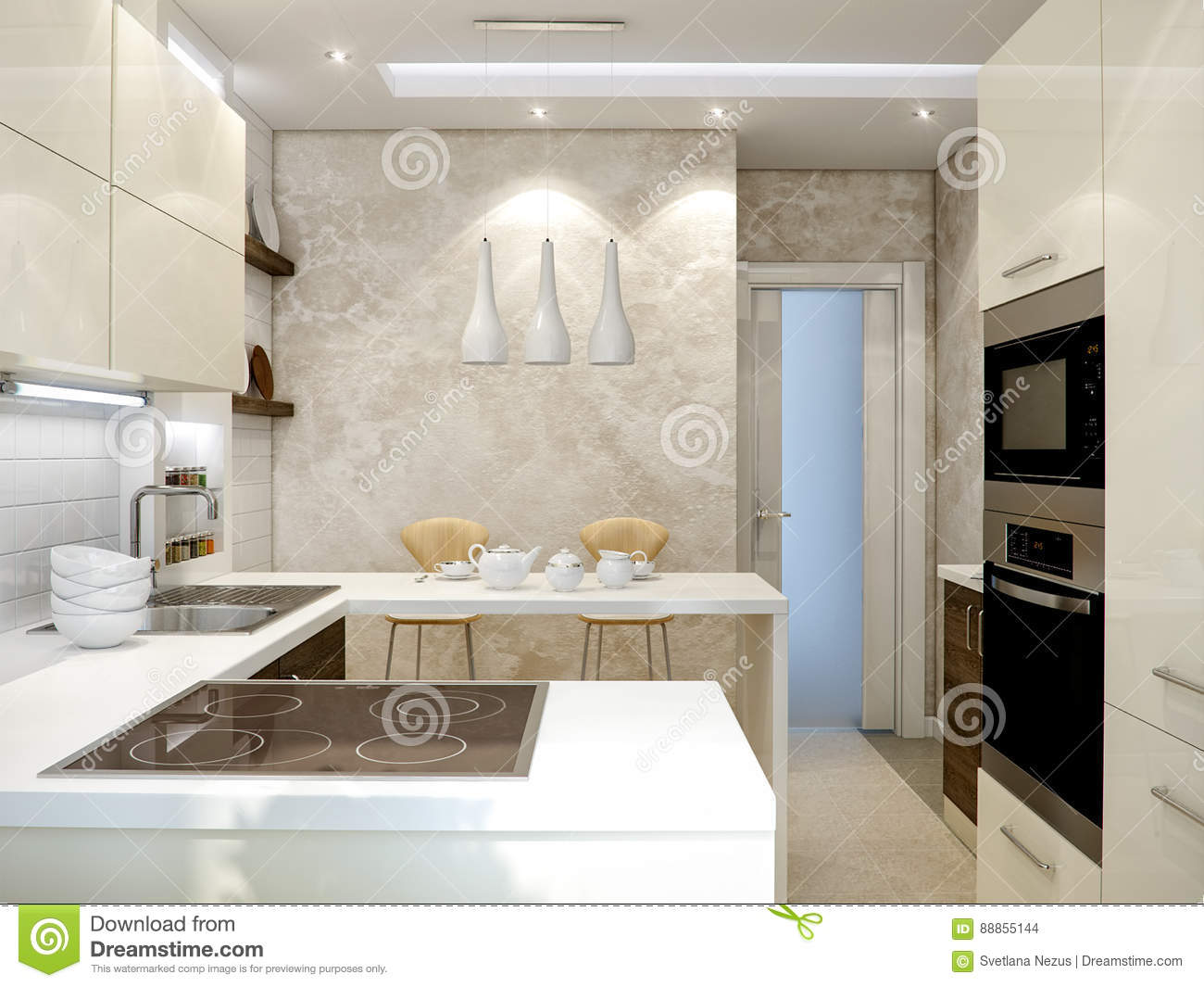 Facades for the kitchen 71