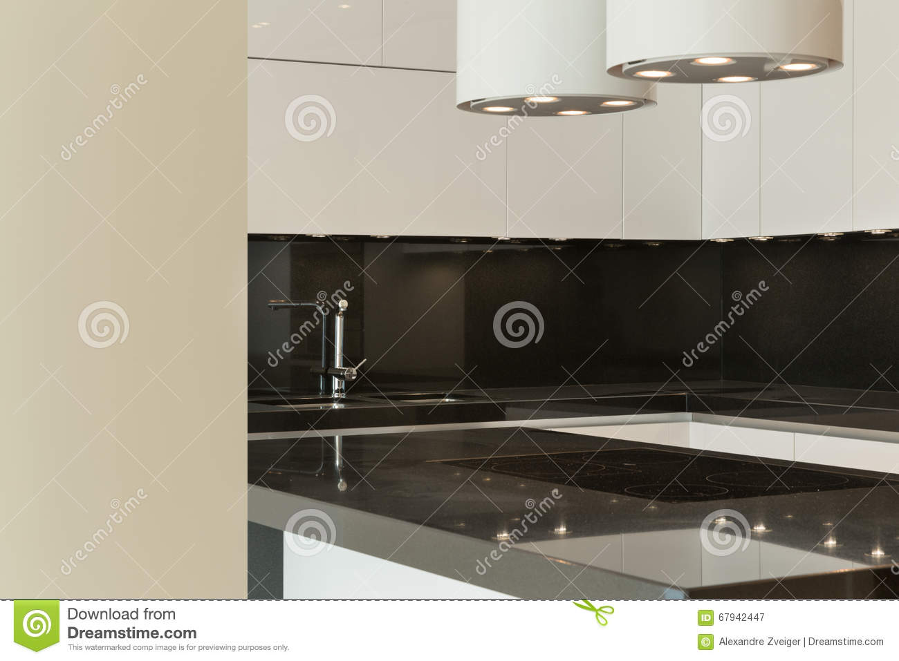 Modern Kitchen Stock Photo Image 67942447