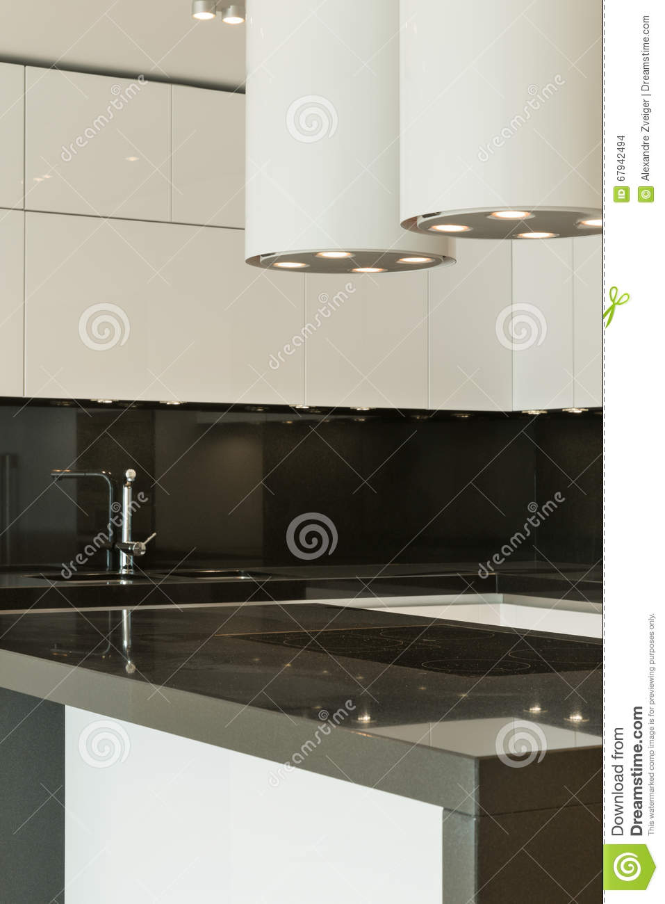 Modern Kitchen Stock Photo Image 67942494