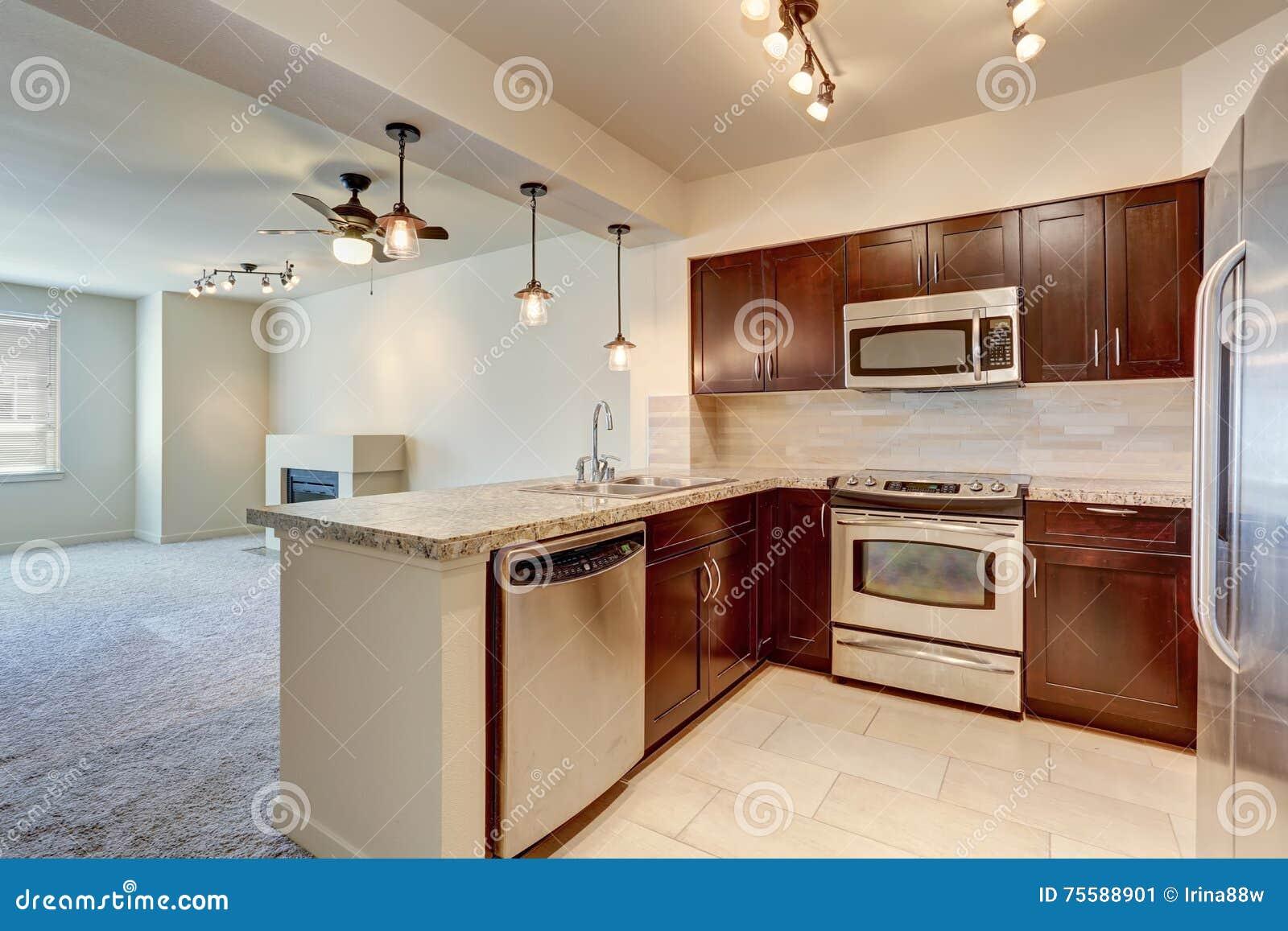 cabinets granite with countertops mahogany cabinet