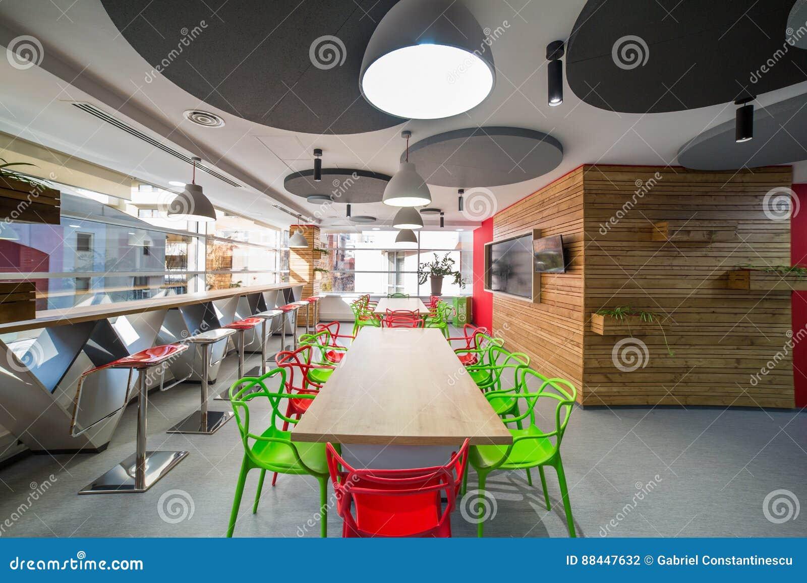 Modern kitchen in office building