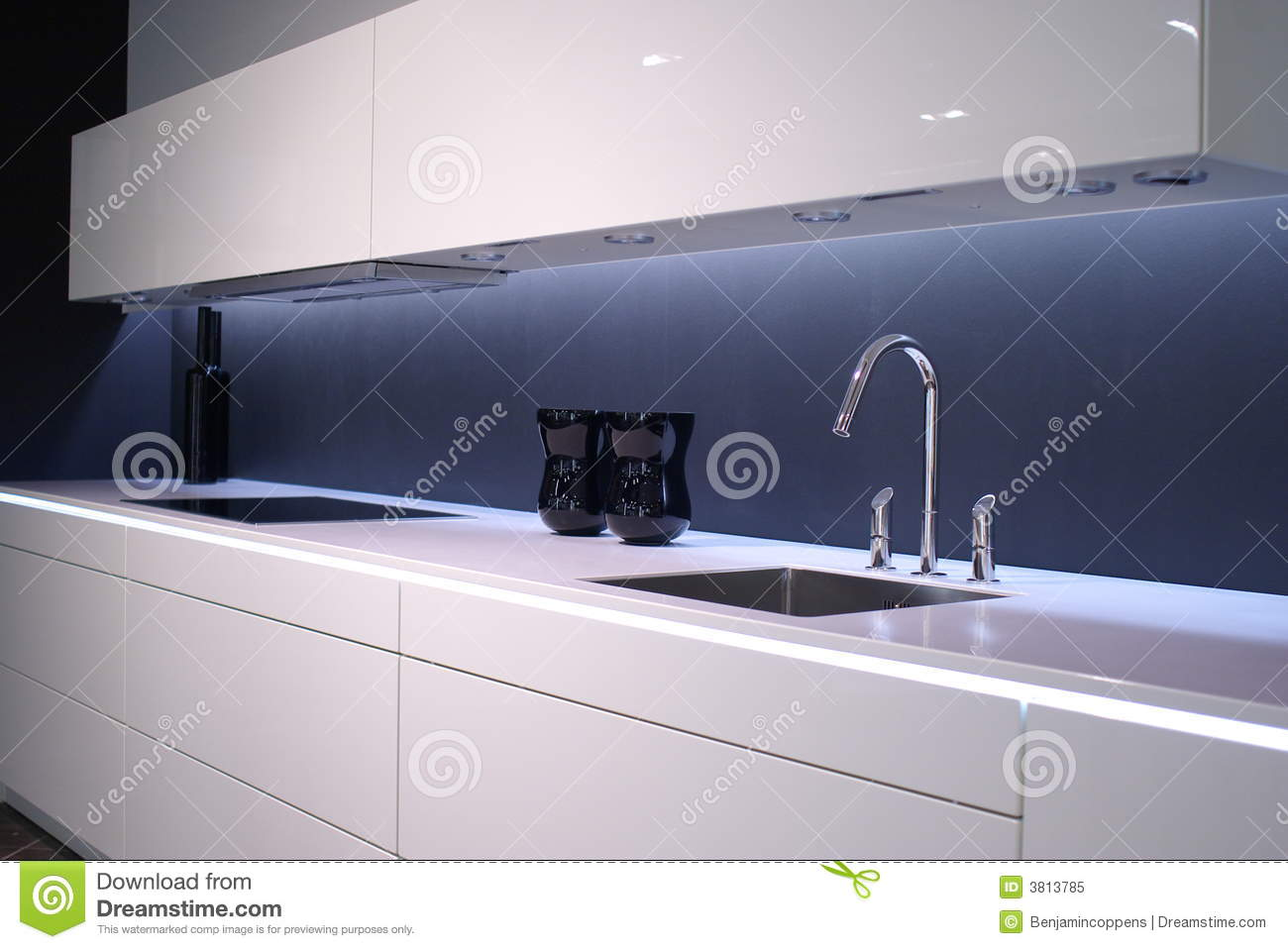 Modern kitchen sink