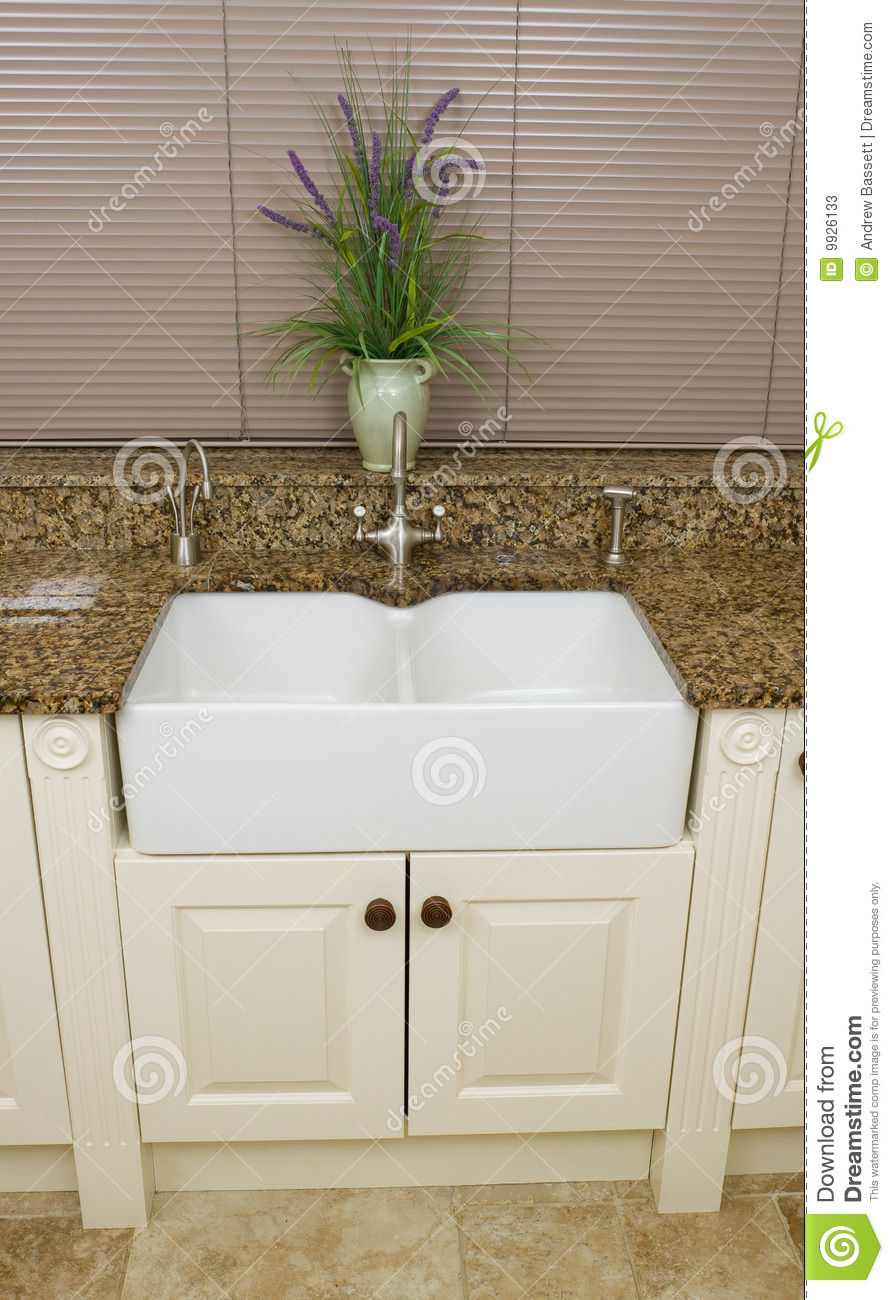 Modern Kitchen Sink Area Stock Photos Image 9926133