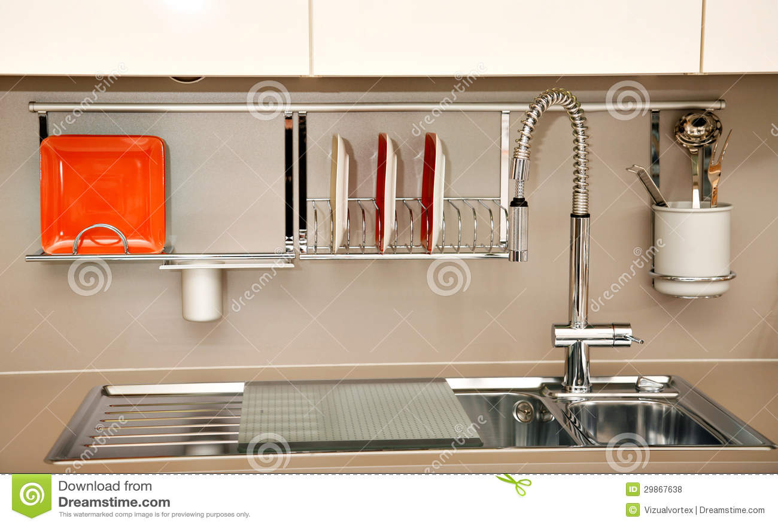 Kitchen sink stock photo. Image of modern, minimalist - 29867638