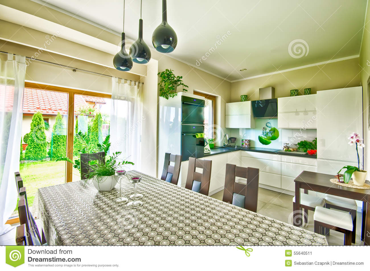 colorful dining room high def images