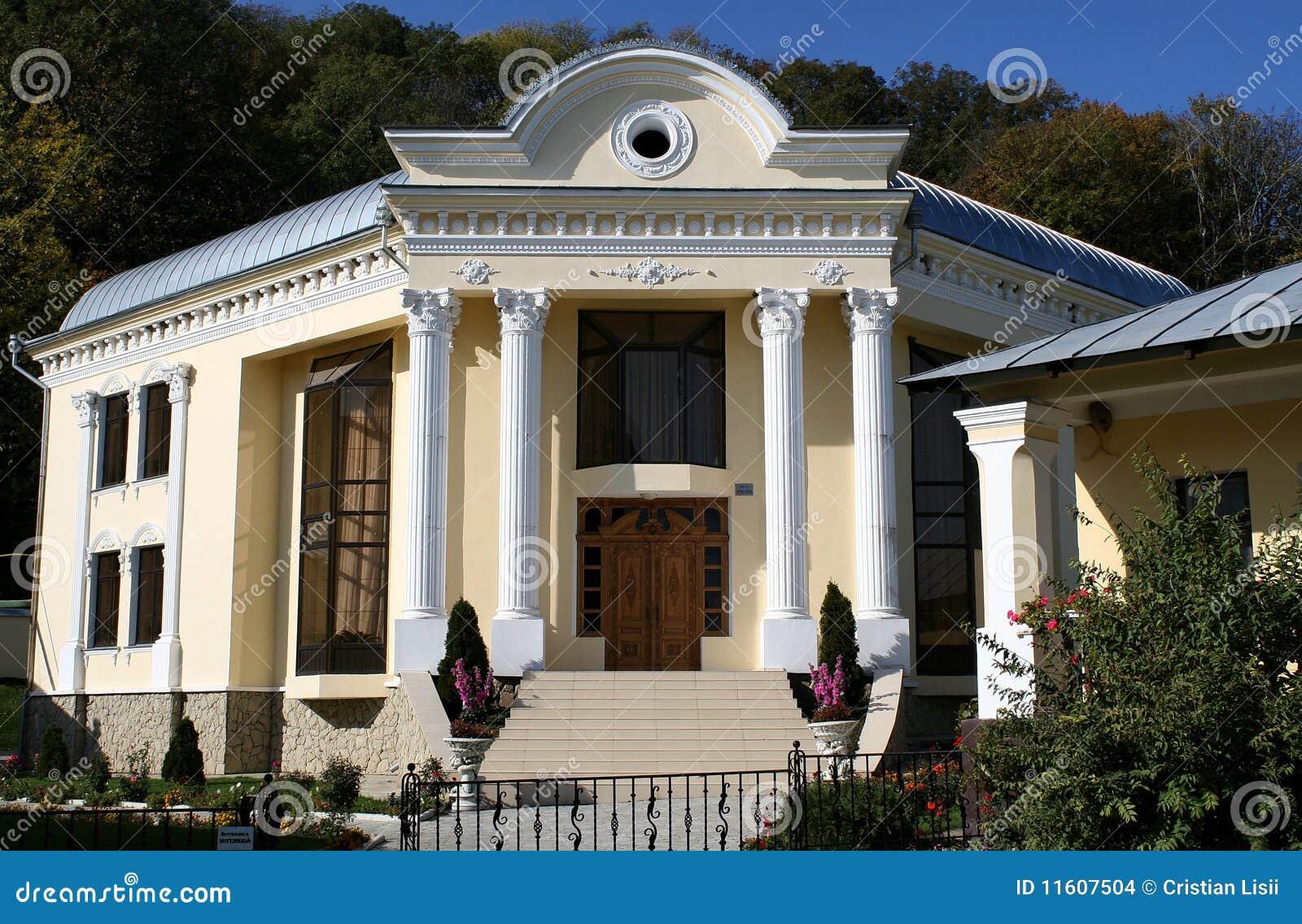 Modern klooster in Moldova