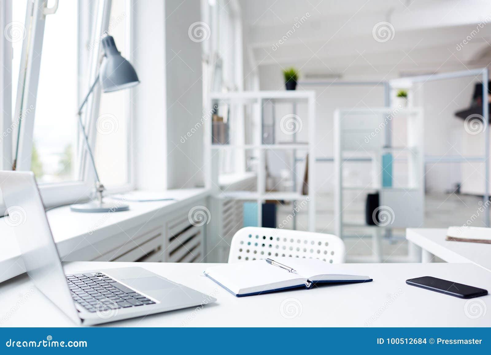 Modern kontorsarbetsplats