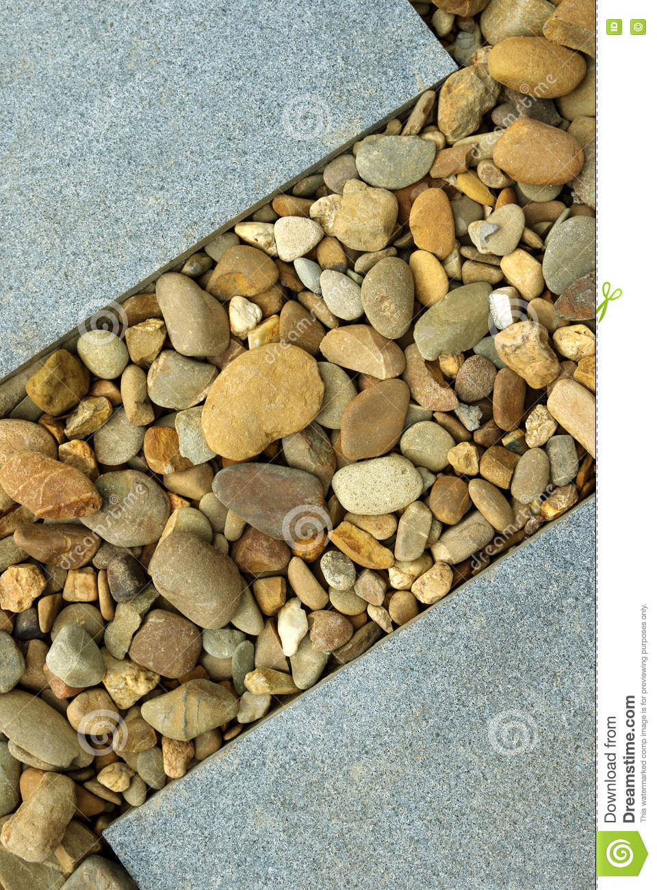 Modern Landscaping Design Ideas Stock Photo Image Of Pebble