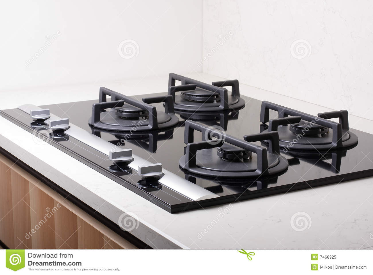 Modern Kitchen Stove modern kitchen gas stove stock photos, images, & pictures - 1,839
