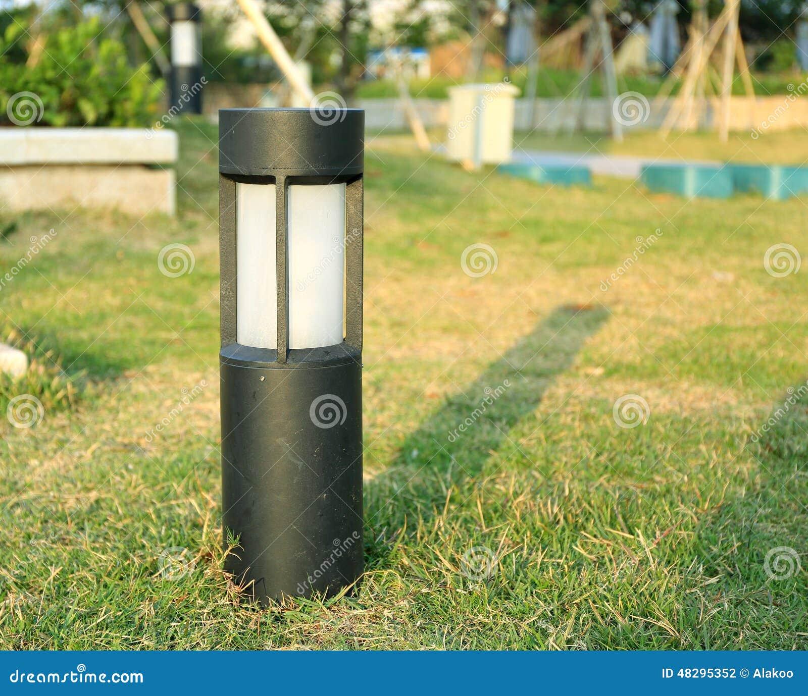 Lawn lamp outdoor light garden landscape lighting stock photo download comp aloadofball Choice Image