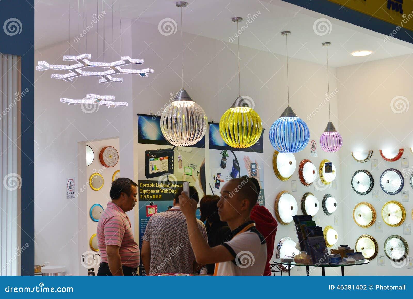Download comp & Modern LED Lighting Shop?In Lighting Commercial ExhibitionCanton ...