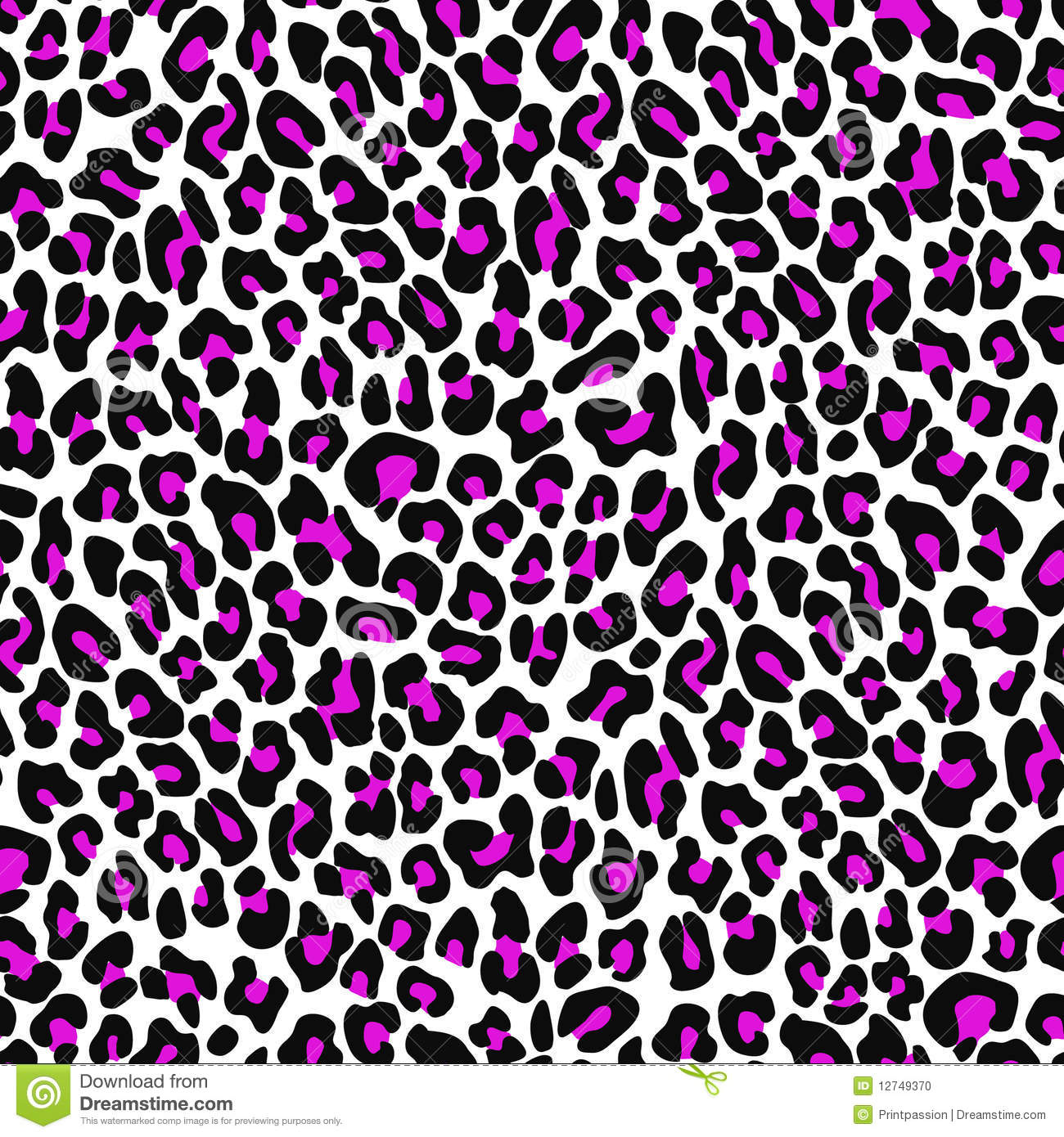 Hot Pink Leopard Wallpaper
