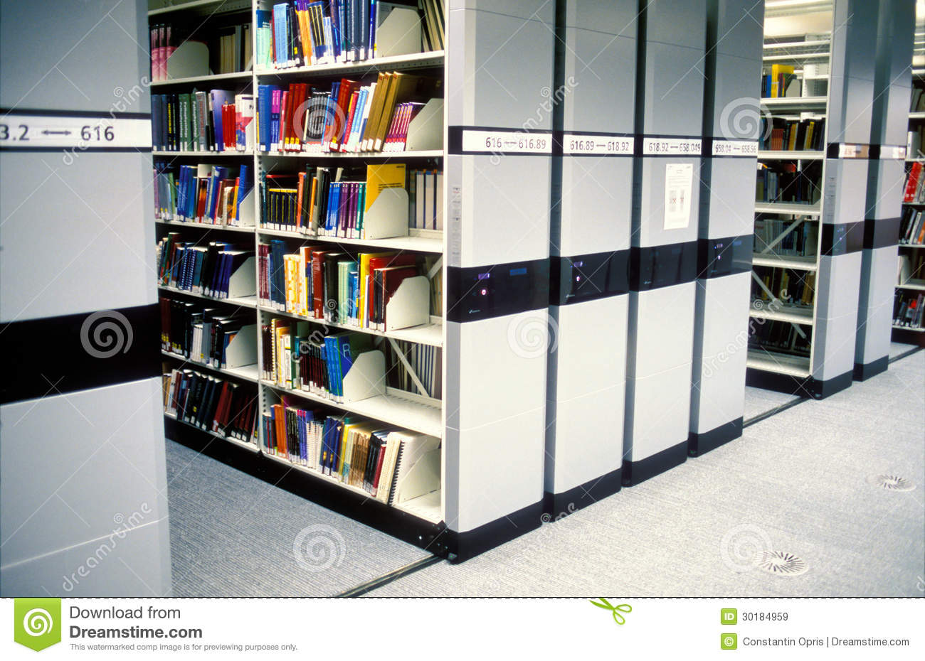 Modern Library Royalty Free Stock Images Image 30184959