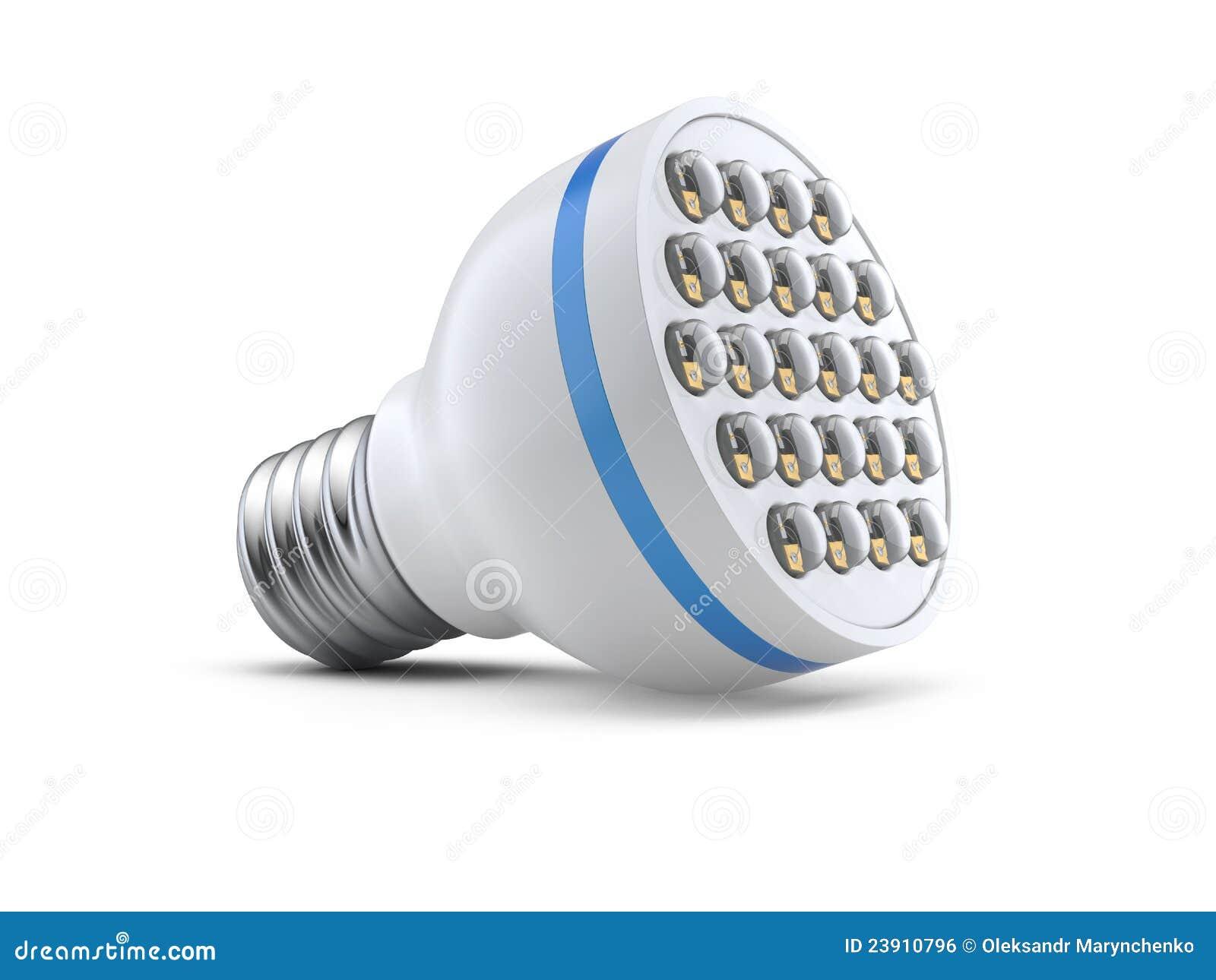 Modern Light-emitting Diode Lamp Stock Illustration ...