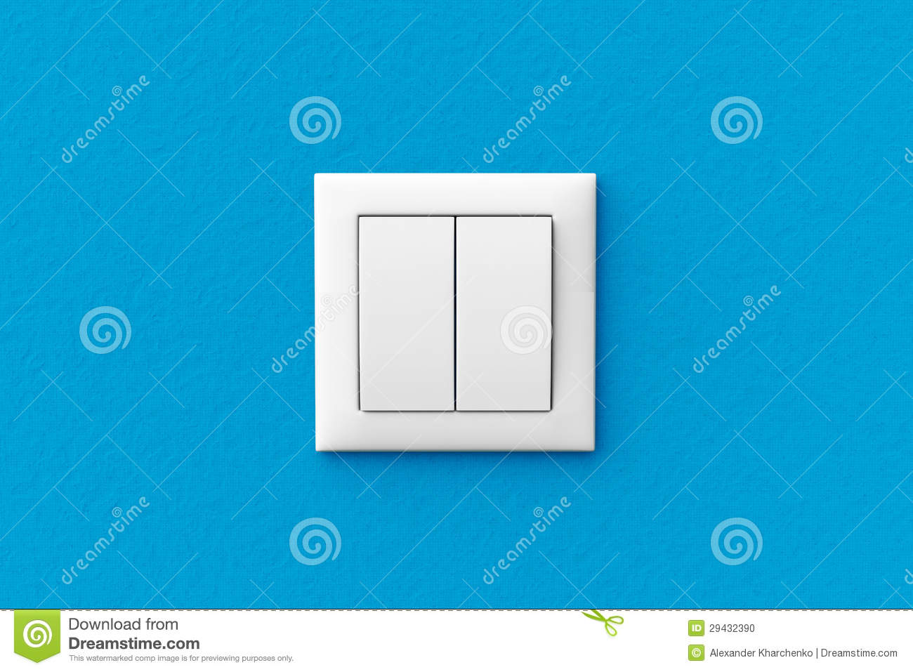 close up of a modern home electrical panel stock photo image