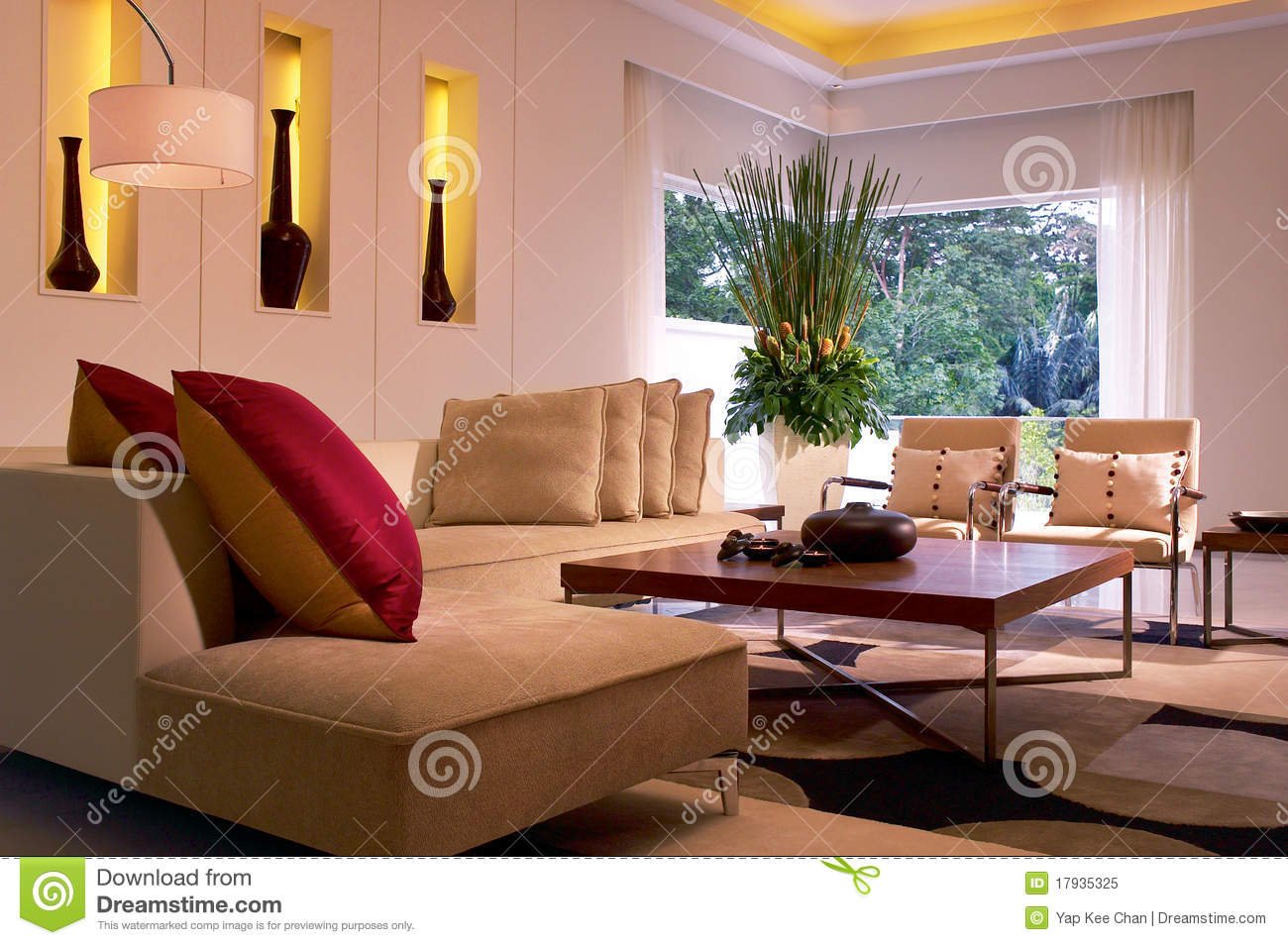 Modern living room stock image image of house indoors - Modern pictures for living room ...
