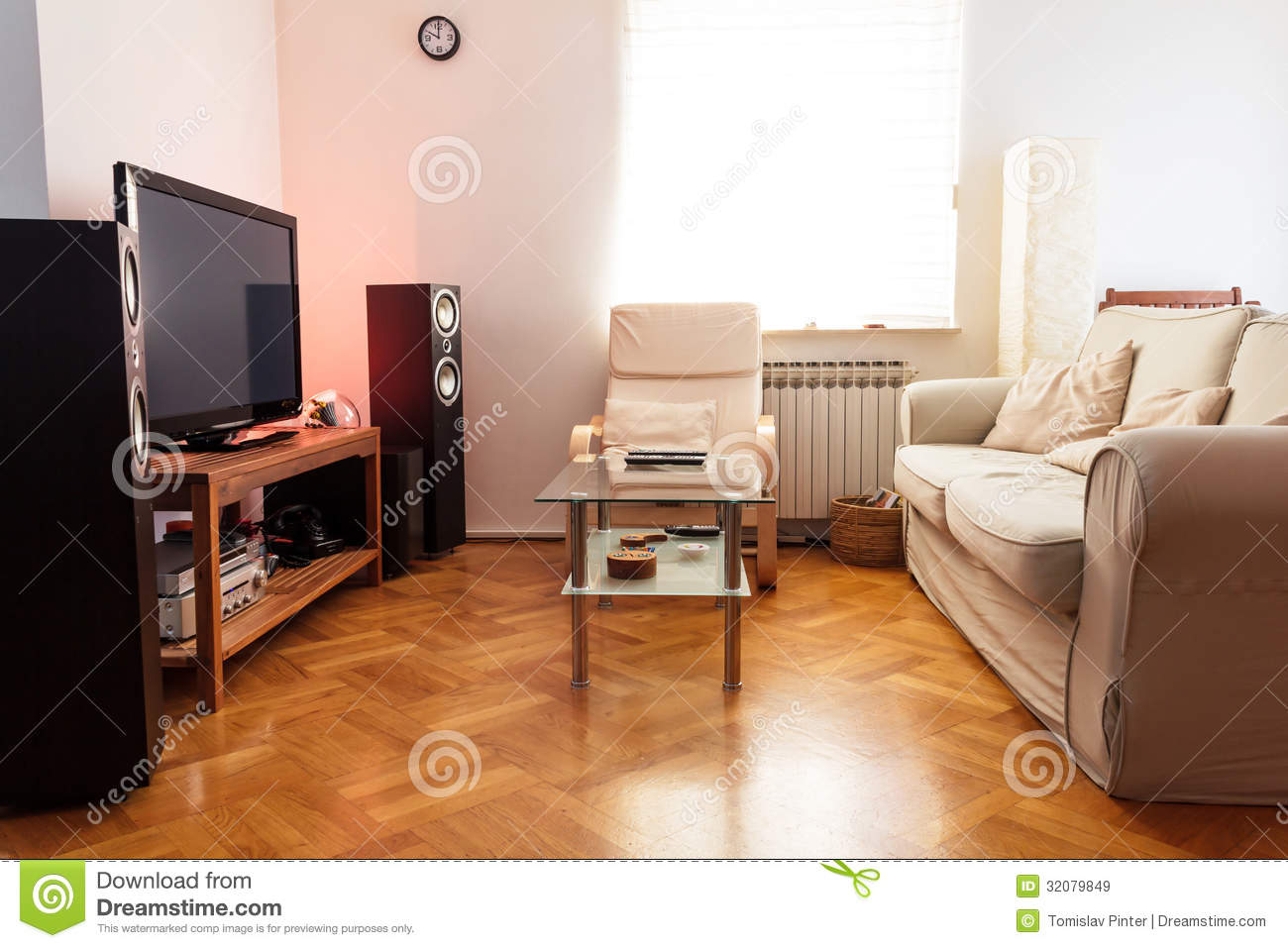 Modern Living Room Royalty Free Stock Images Image 32079849