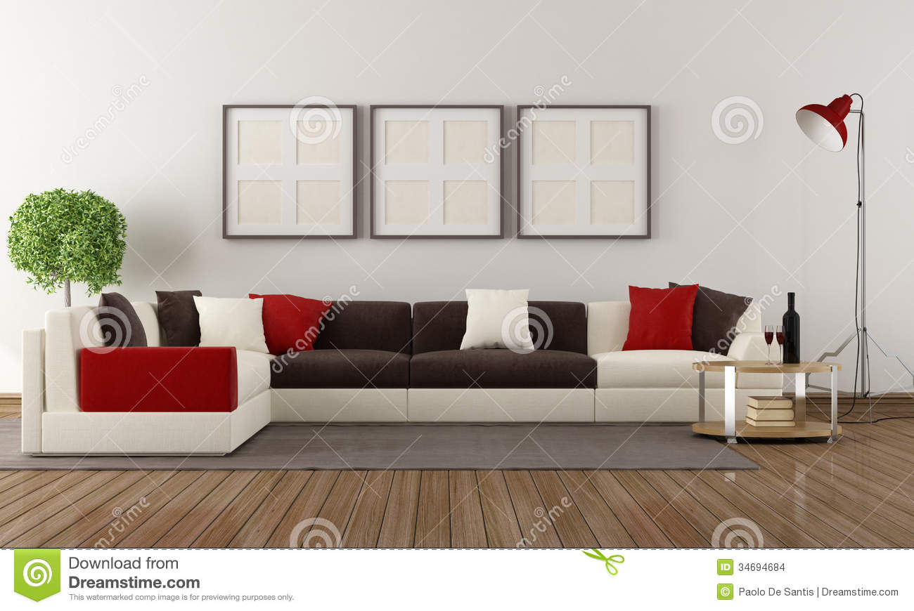 Modern Living Room Stock Images - Image: 34694684