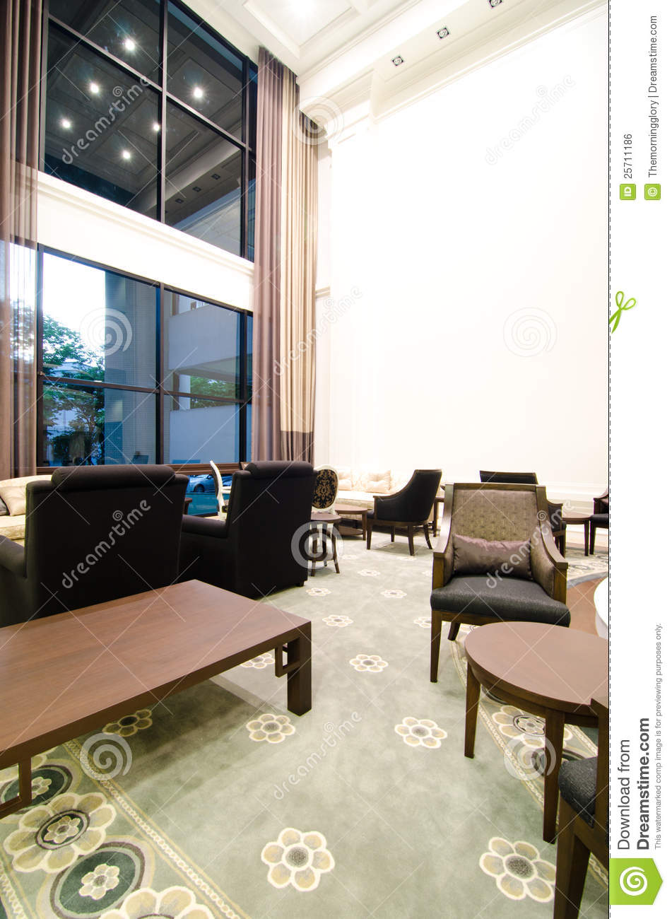 Modern living a room with a dining zone 3d stock photo for Living room zones