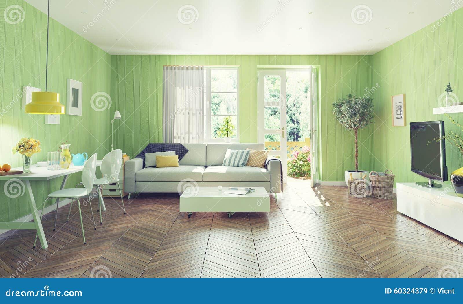 Modern living room stock illustration image 60324379 for Modern living room concepts