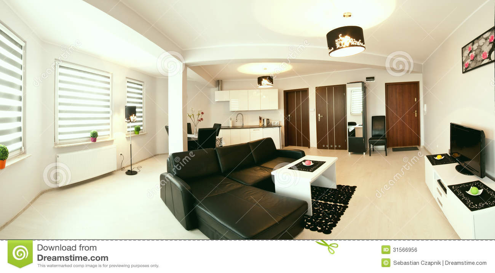 modern living room royalty free stock image image 31566956