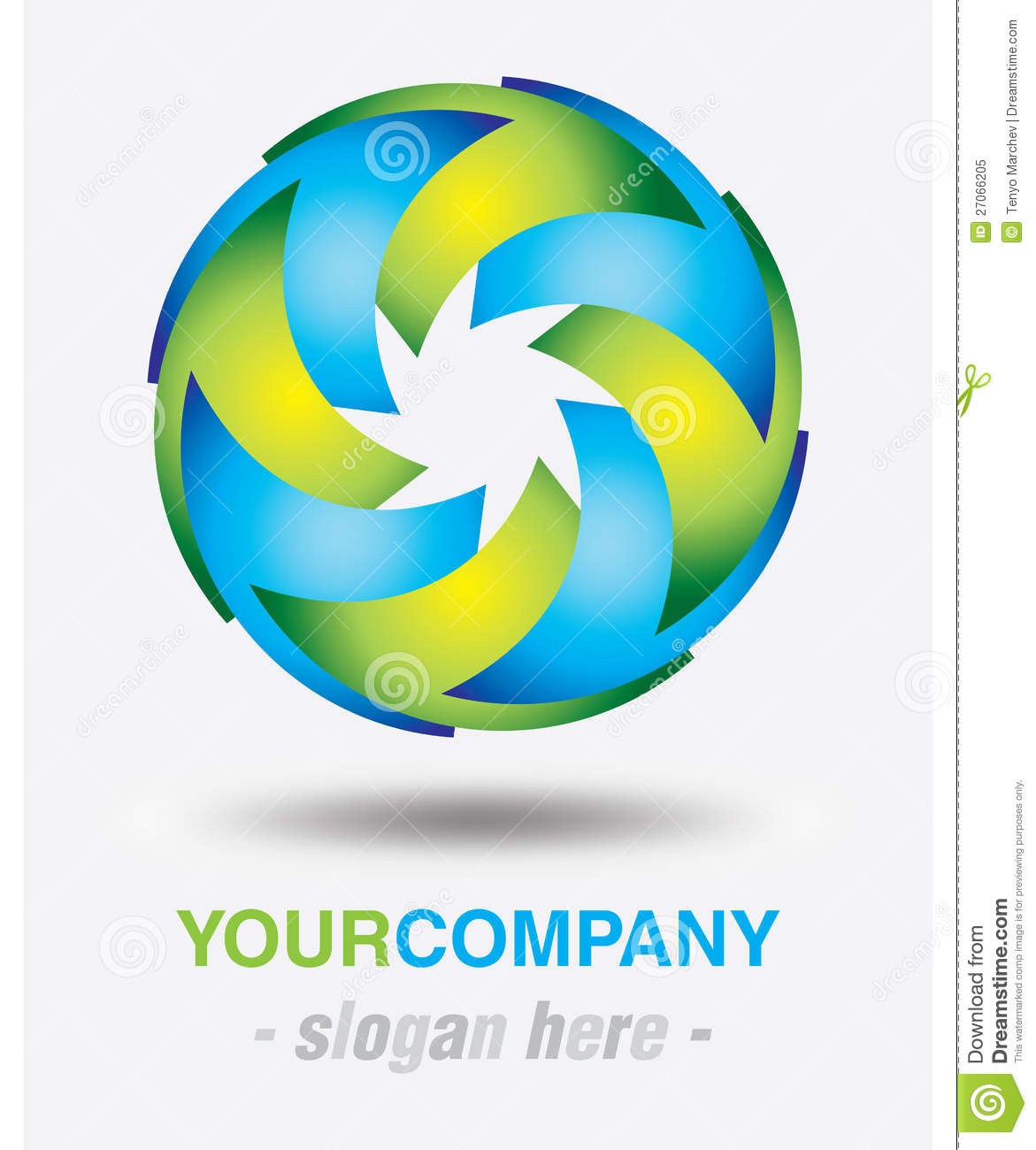 Modern Logo Design Royalty Free Stock Photo Image 27066205