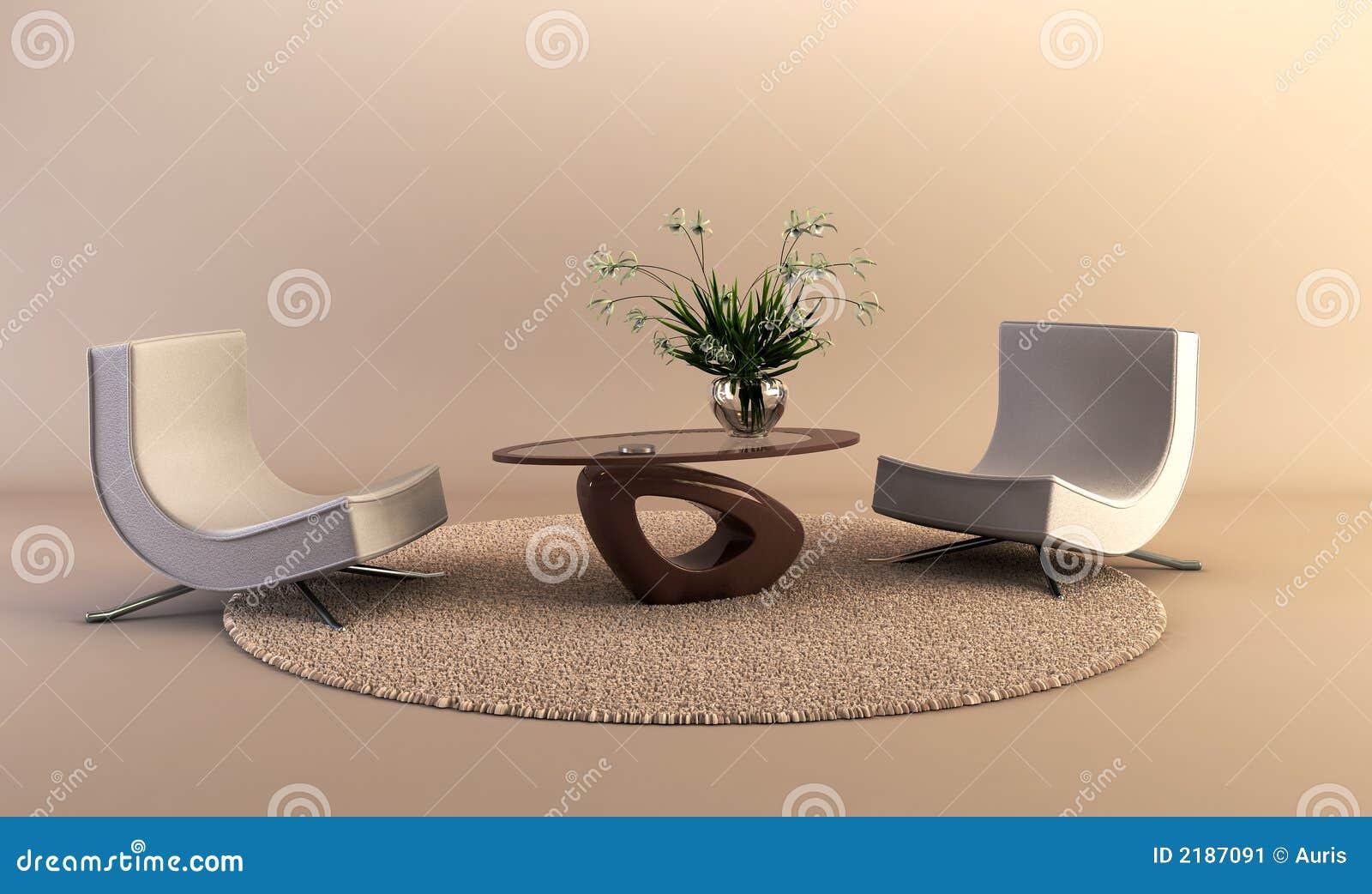 Modern lokalstil för vardagsrum