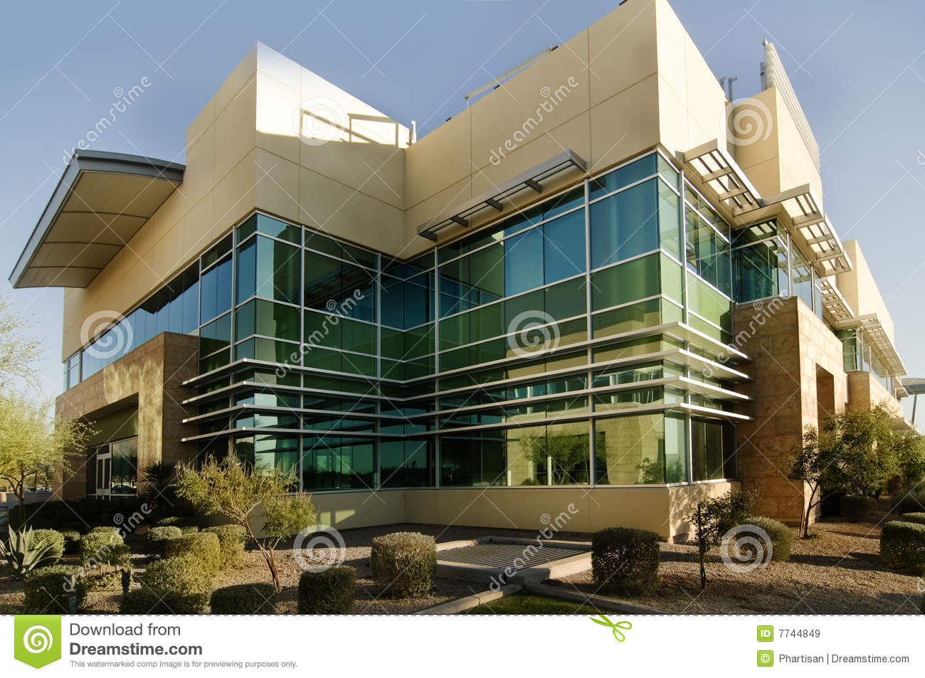 exterior office. Modern Looking Office Building Exterior