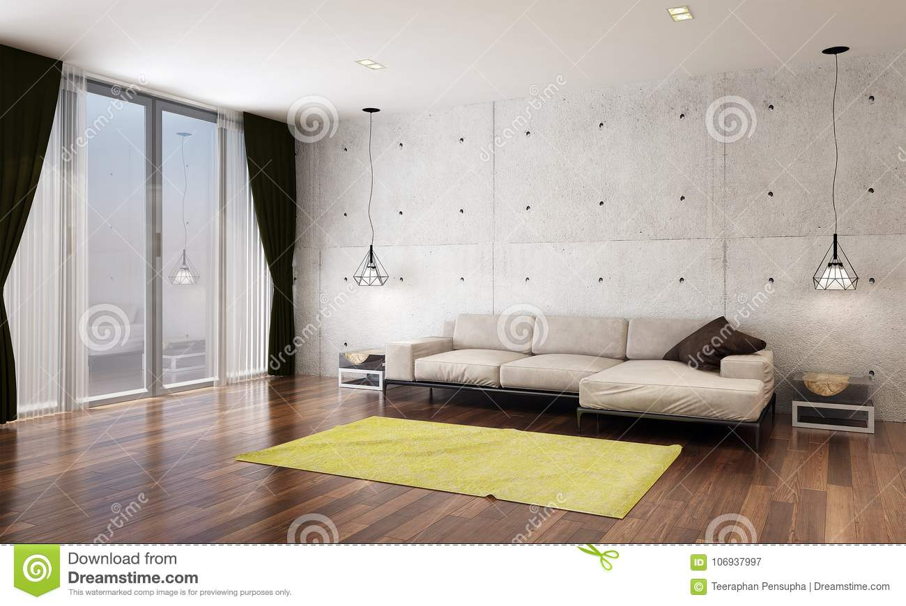 The Modern Lounge And Living Room Interior Design And ...